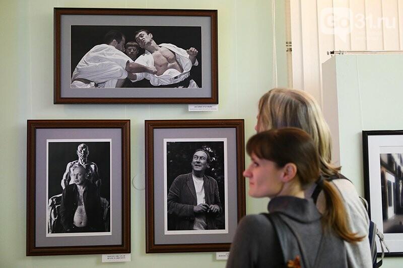 Белгородцам показали «Фундаментальность мимолётности» фотографа Михаила Геллера