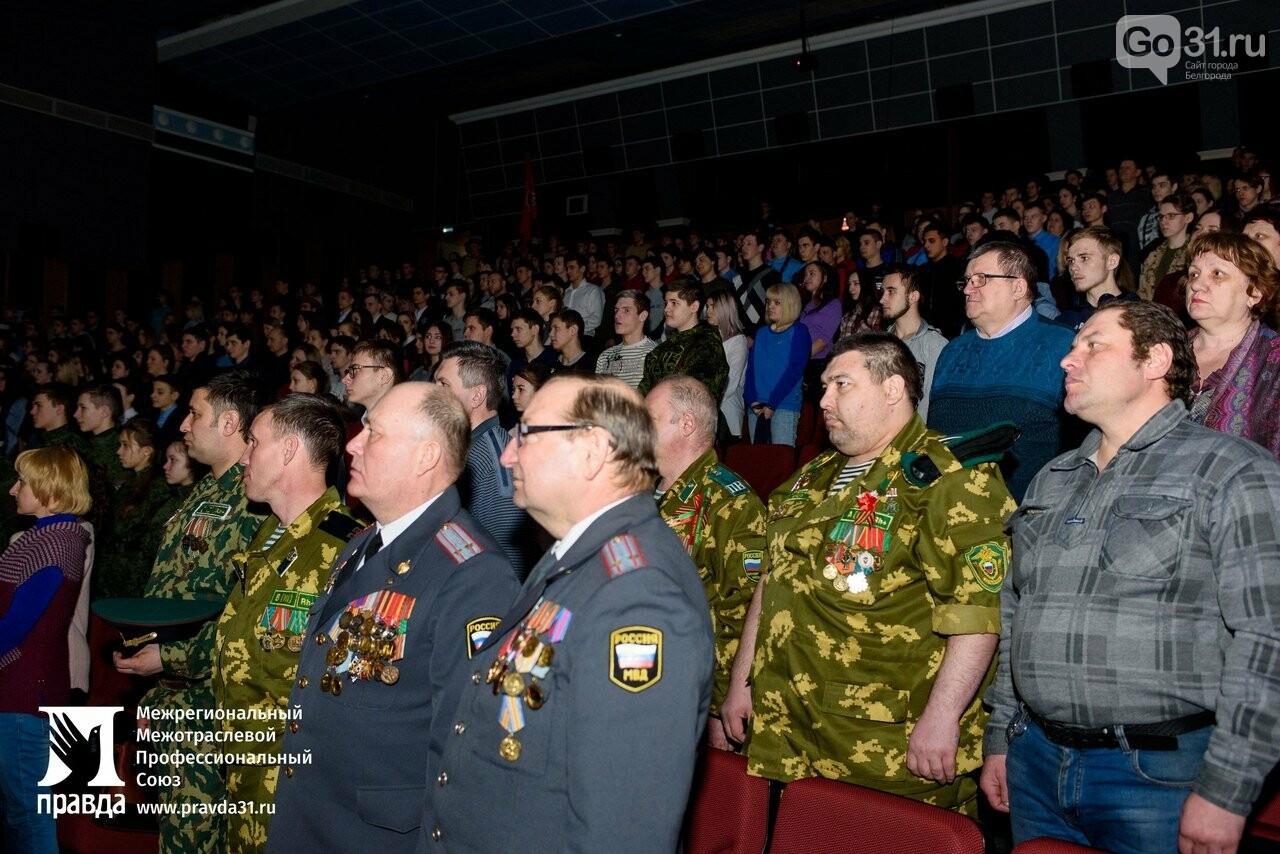 В Старом Осколе презентовали фотовыставку «Герои России, какими их не видел никто» , фото-13