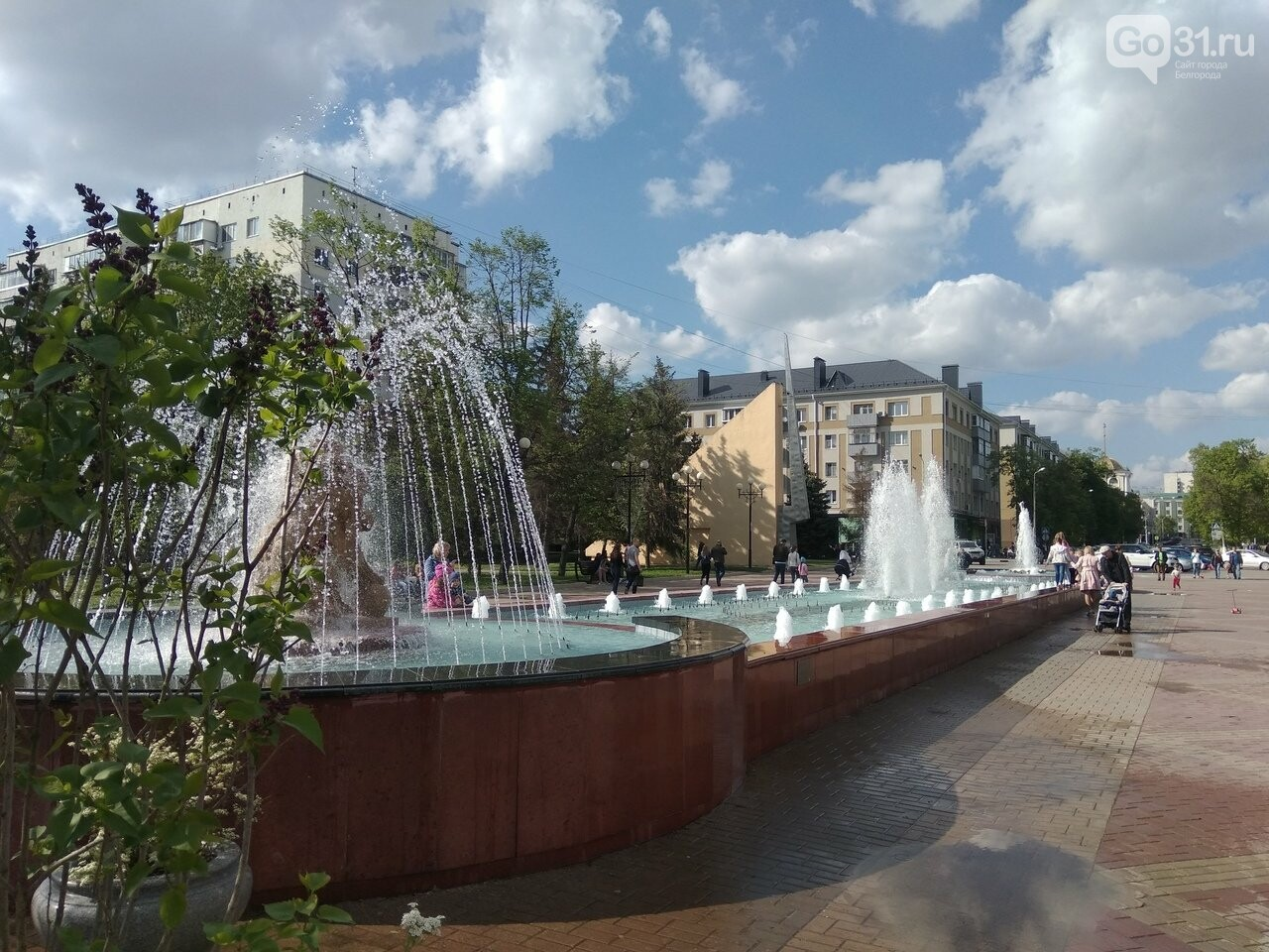 В Белгороде открыли сезон фонтанов , фото-3