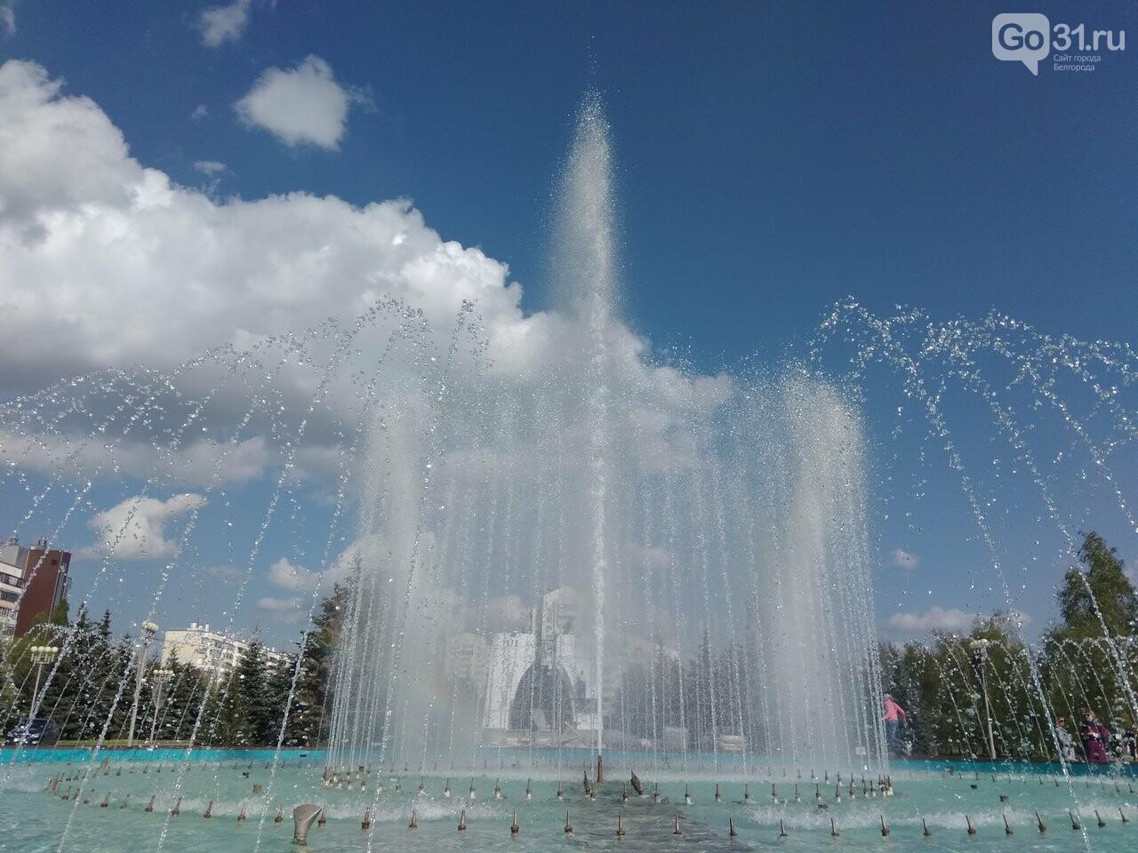 В Белгороде открыли сезон фонтанов , фото-11