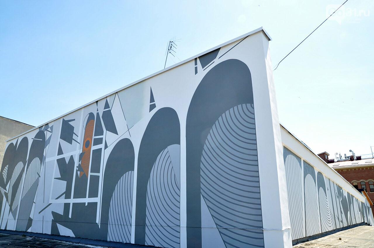 «Здесь занимаются люди искусства». Декан музыкального колледжа Белгорода об абстрактной росписи стен заведения, фото-4