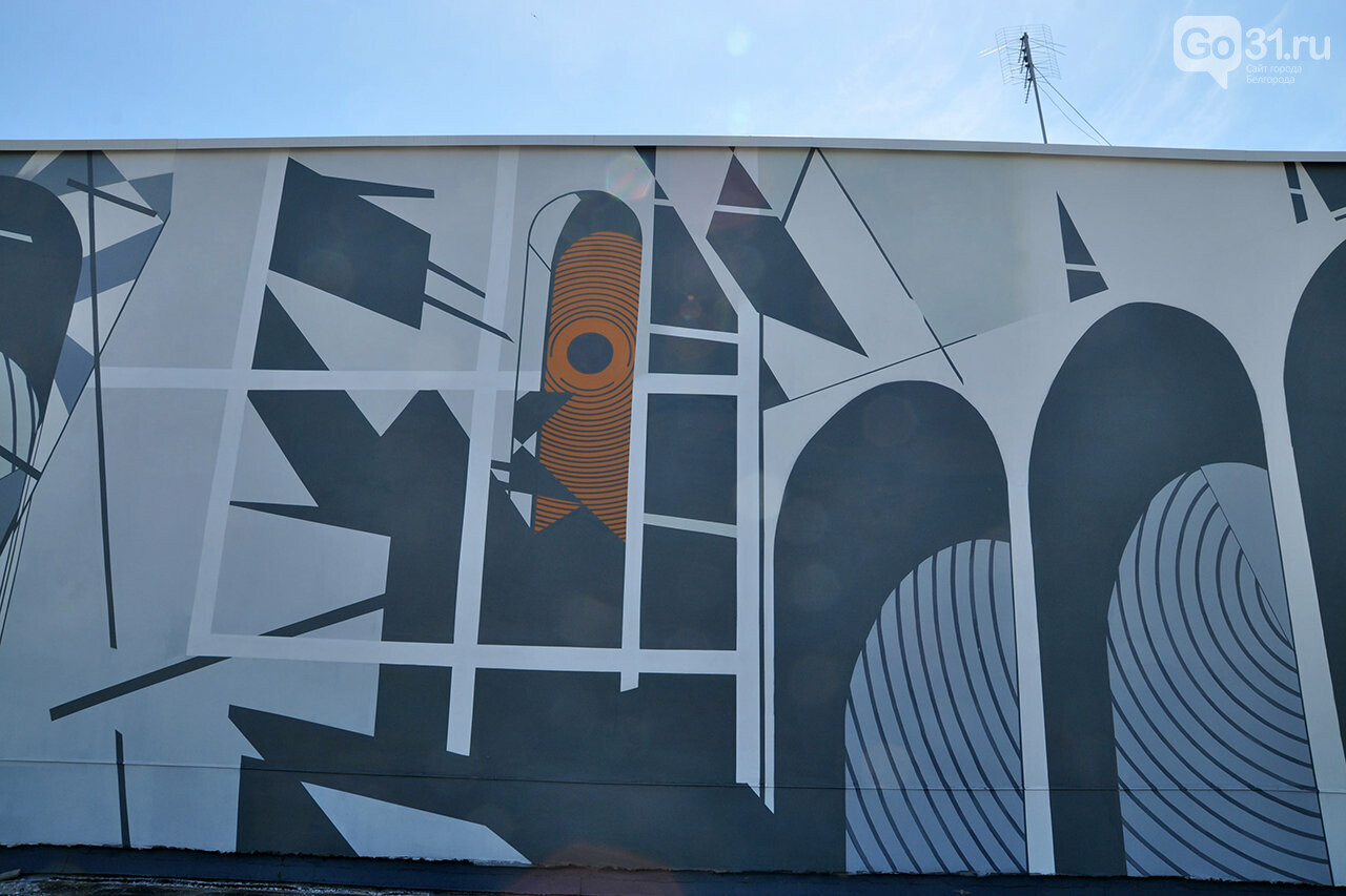 «Здесь занимаются люди искусства». Декан музыкального колледжа Белгорода об абстрактной росписи стен заведения, фото-6
