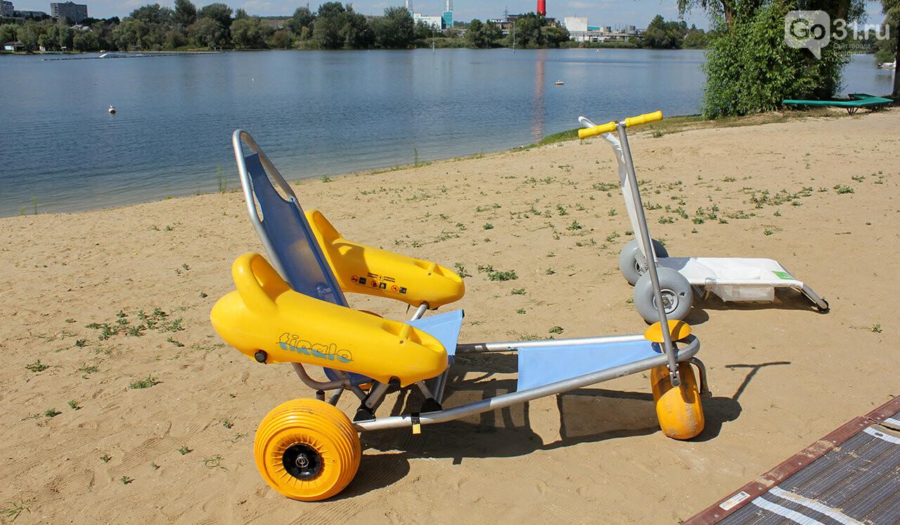 Доступный отдых. В Белгороде презентовали пляж для инвалидов, фото-2
