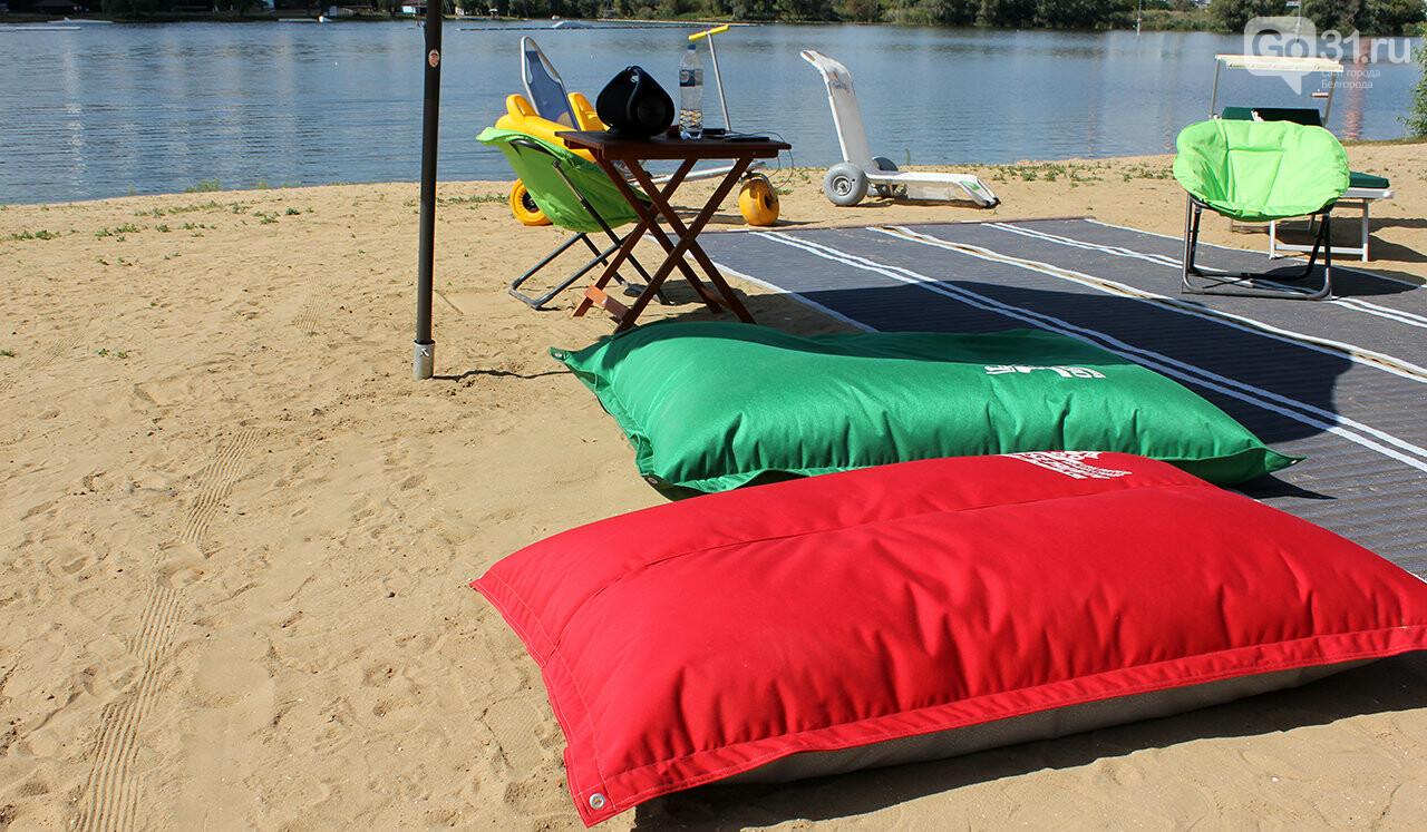Доступный отдых. В Белгороде презентовали пляж для инвалидов, фото-5