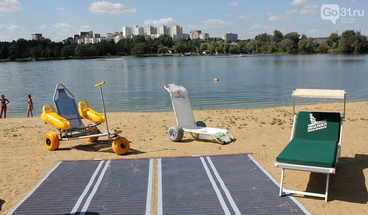 Доступный отдых. В Белгороде презентовали пляж для инвалидов, фото-9