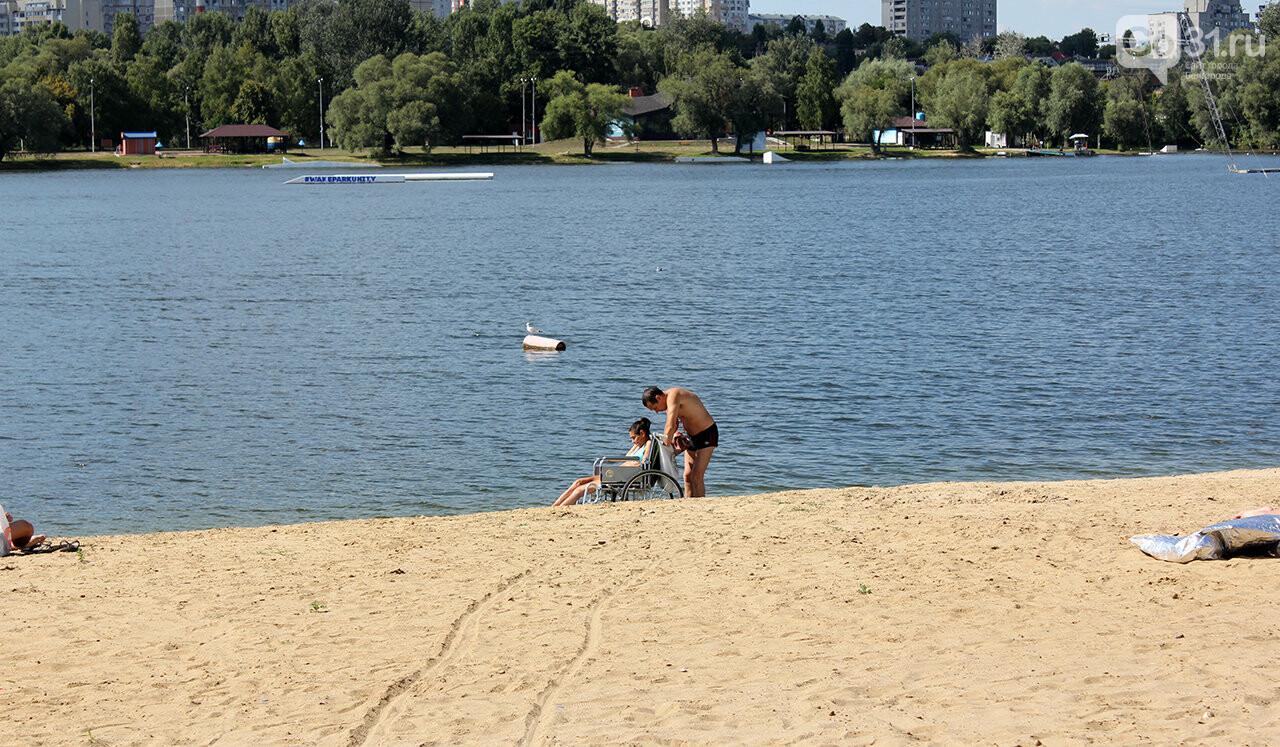 Доступный отдых. В Белгороде презентовали пляж для инвалидов, фото-12