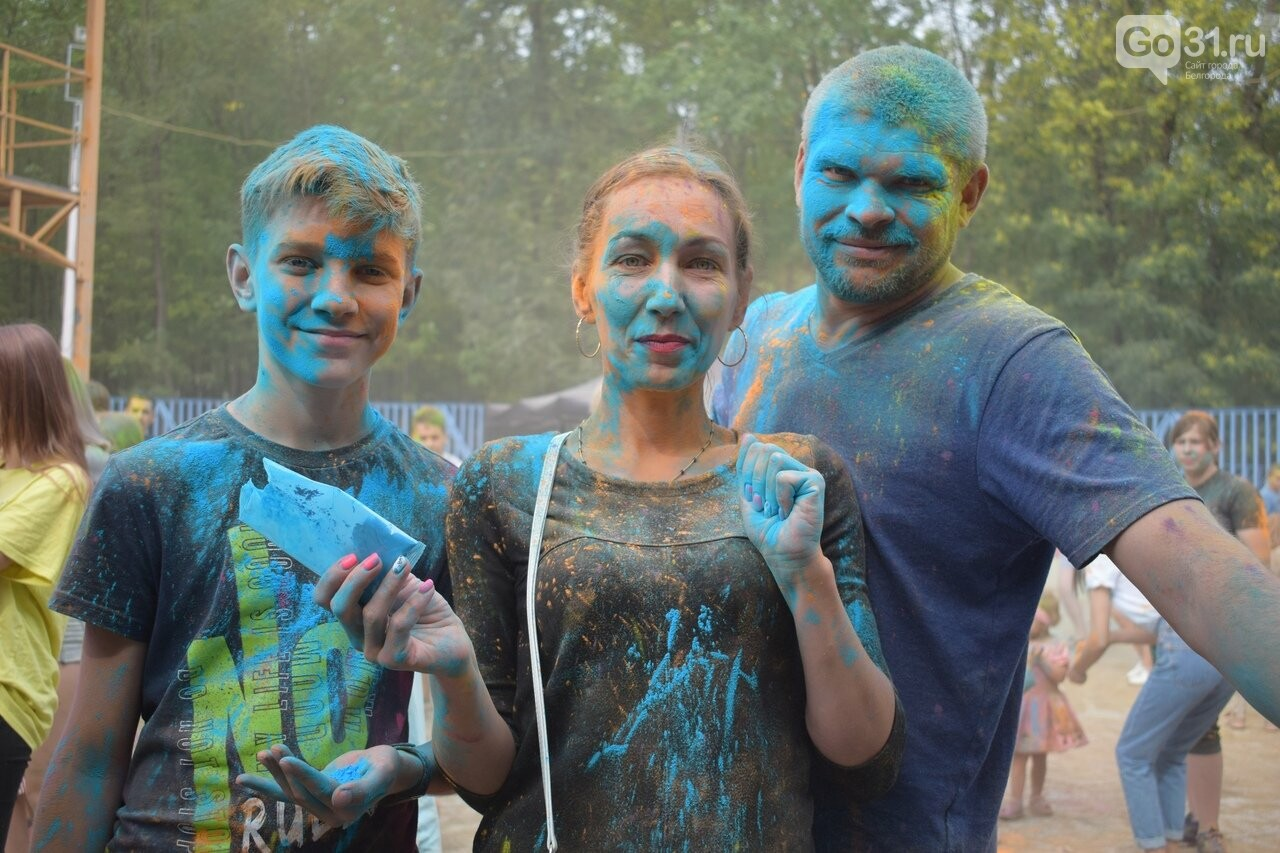 Белгород раскрасили разноцветным позитивом, фото-24