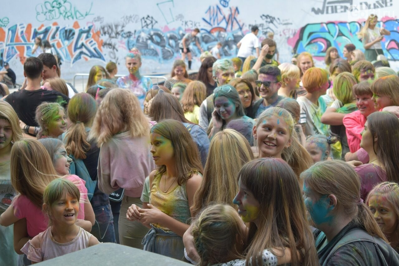 Белгород раскрасили разноцветным позитивом, фото-25