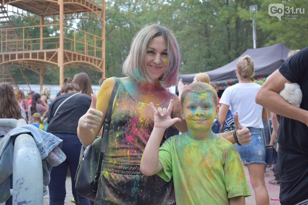 Белгород раскрасили разноцветным позитивом, фото-6