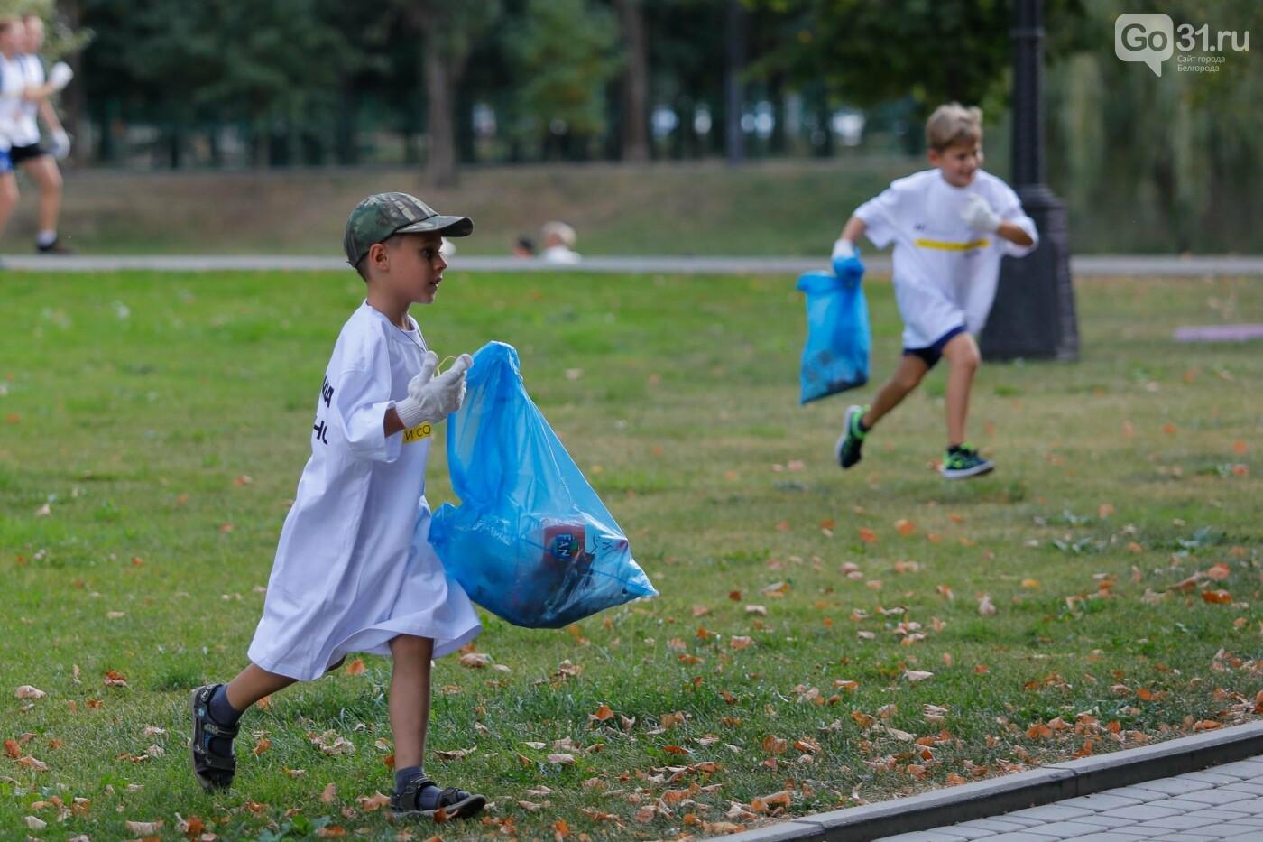 Какое шоу показали белгородцам участники российского пробега мусоровозов, фото-25