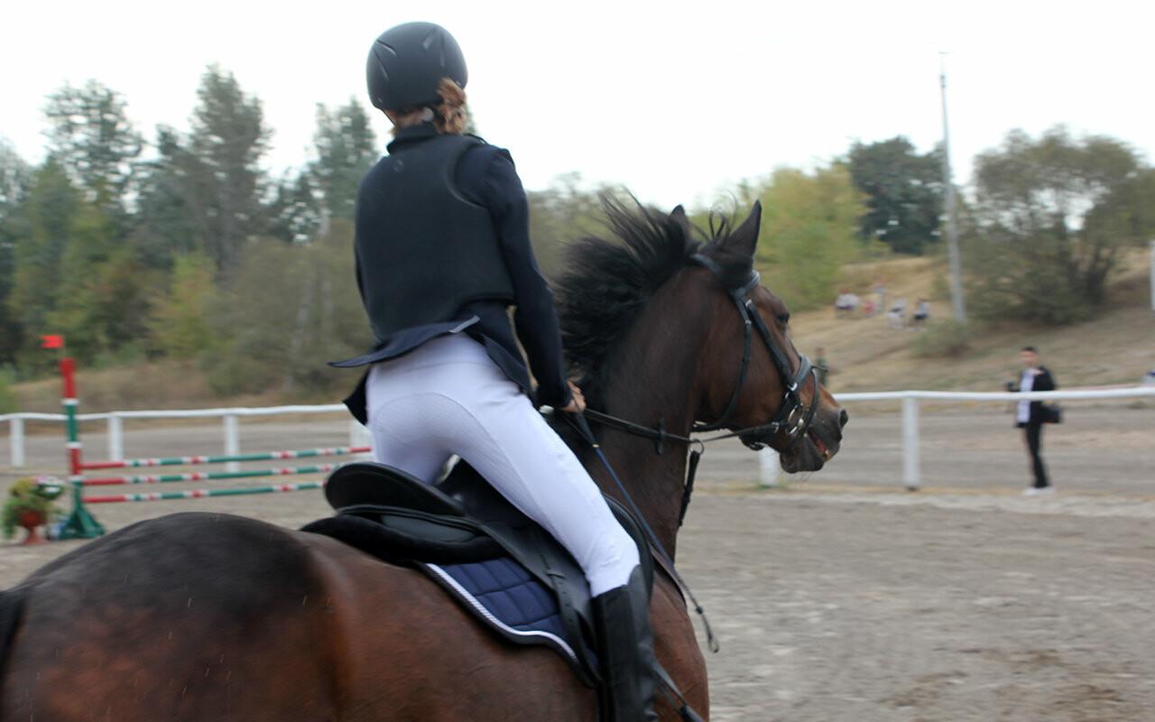 В Белгороде за Кубок губернатора по конному спорту борются 12 команд, фото-6