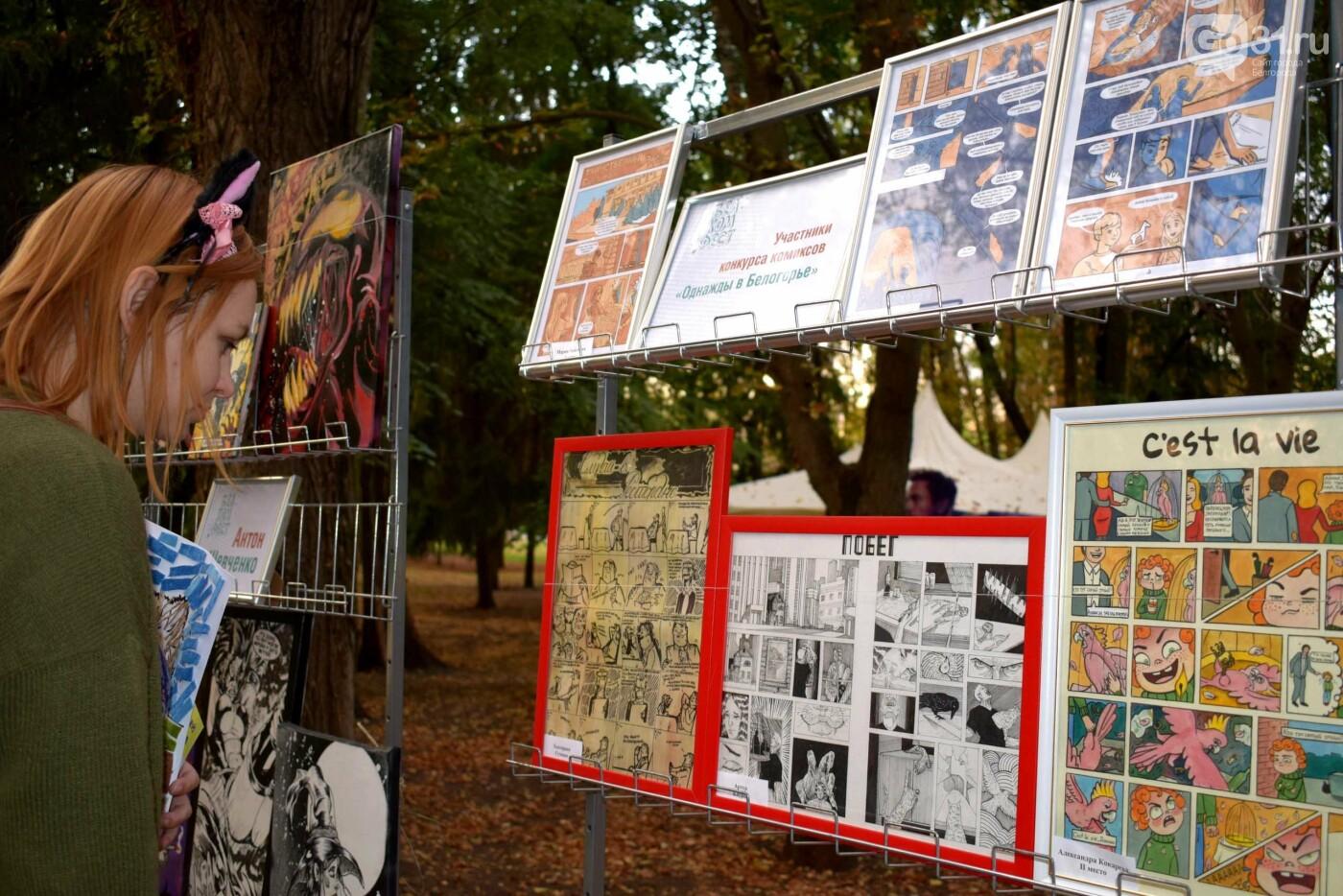 Комиксы, куклы, карильон. В Белгороде прошёл фестиваль «Я – в культуре. Культура – во мне», фото-3