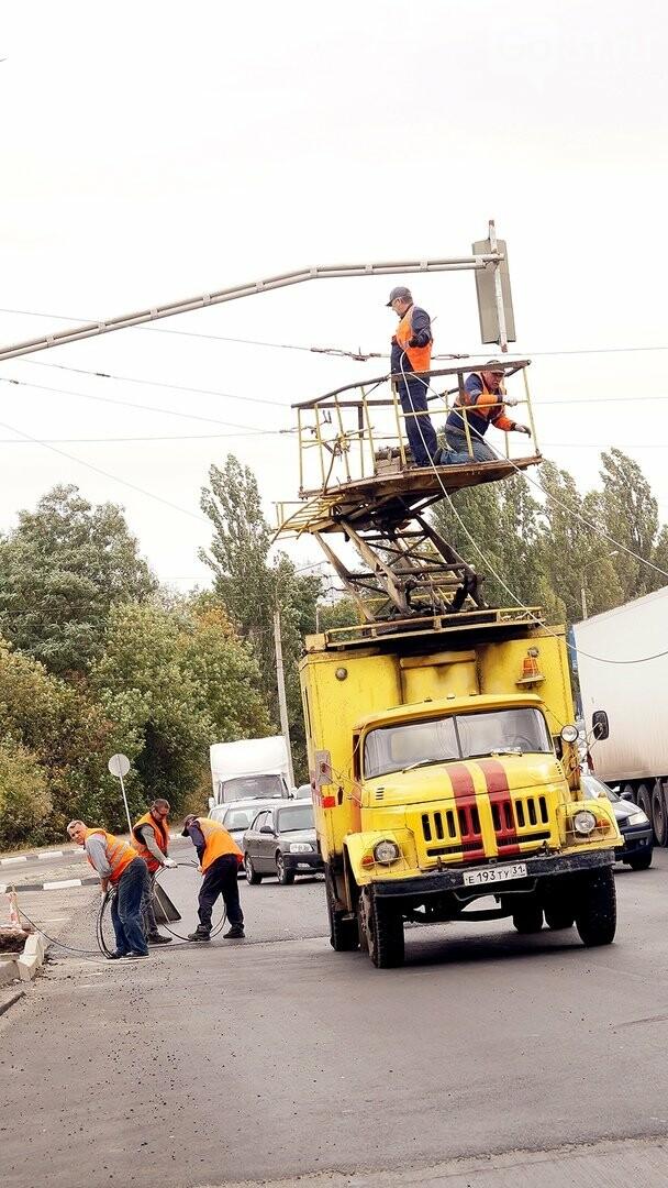 Строительство перекрёстка на «Спутнике» усложнило движение автомобилистам , фото-5
