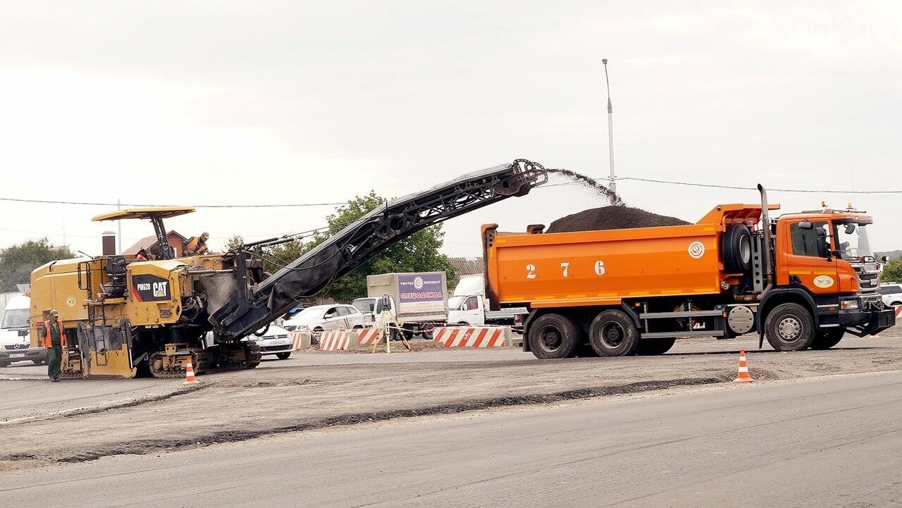 Строительство перекрёстка на «Спутнике» усложнило движение автомобилистам , фото-3