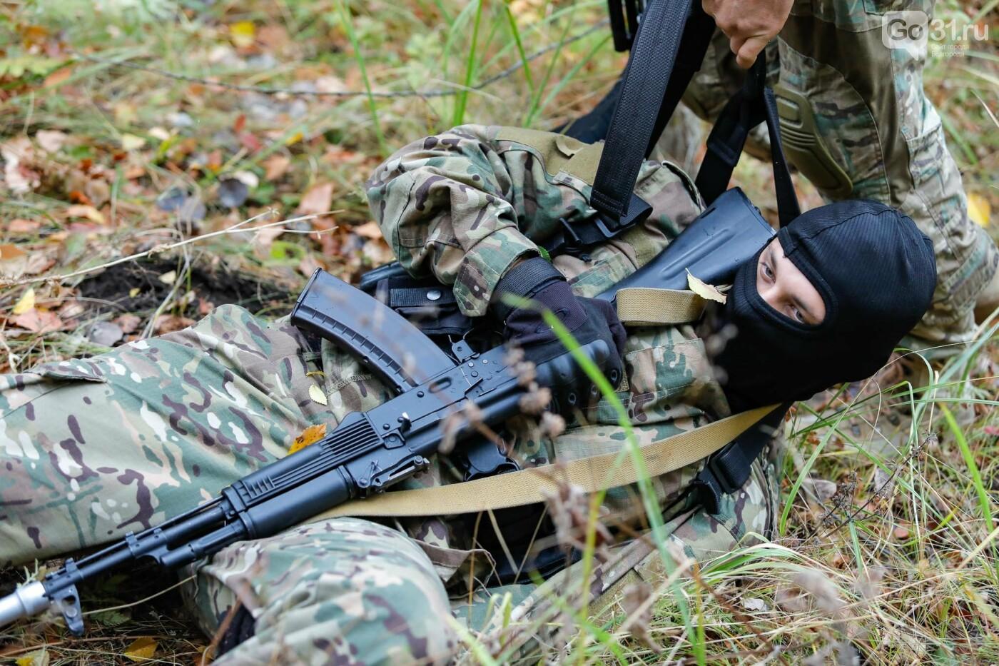 Под Белгородом прошли тактико-специальные учения ОМОНа, фото-6