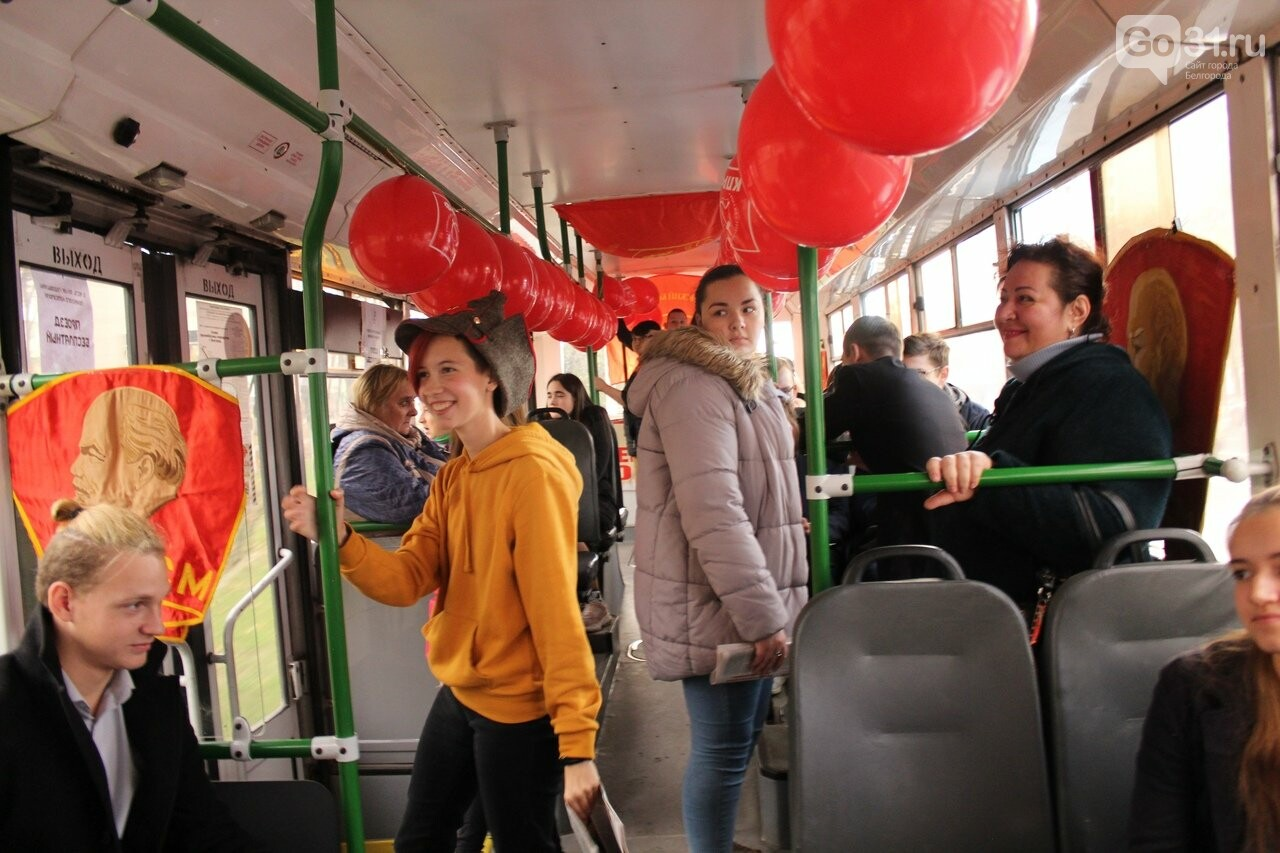 «Комсомольский троллейбус» проехал по Белгороду , фото-1