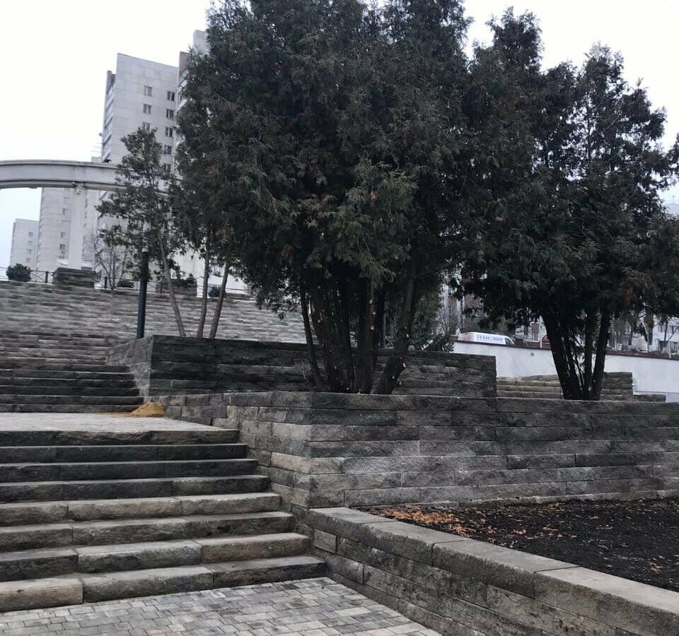 «Как по этим ступеням с коляской ходить?» Белгородцы оценили обновлённый сквер «Южный», фото-7