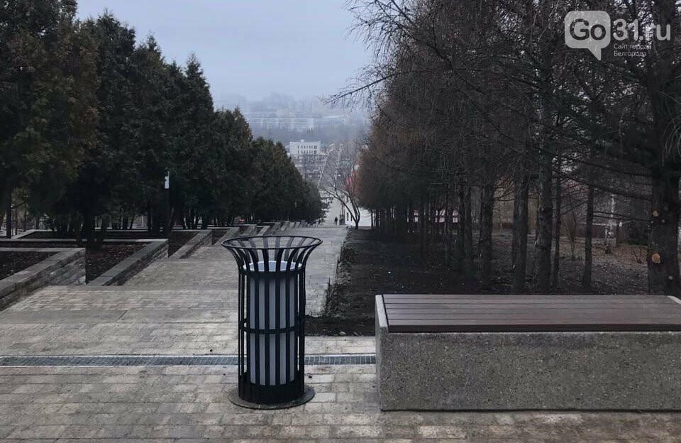 «Как по этим ступеням с коляской ходить?» Белгородцы оценили обновлённый сквер «Южный», фото-6