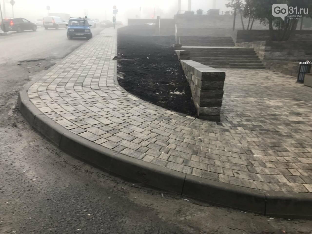 В сквере «Южный» Белгорода колясочников направили в объезд, фото-2