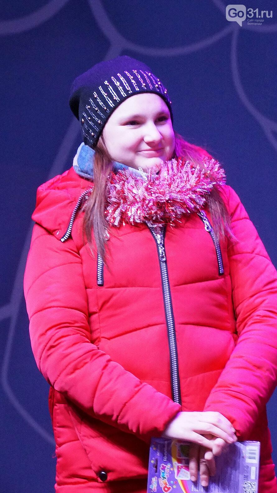 Белгород встретил 2020 год песнями и танцами на Соборной площади, фото-13
