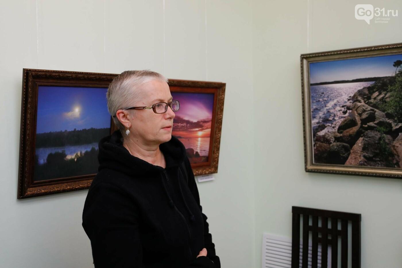В Белгороде открылась персональная фотовыставка Владимира Щекалова, фото-19