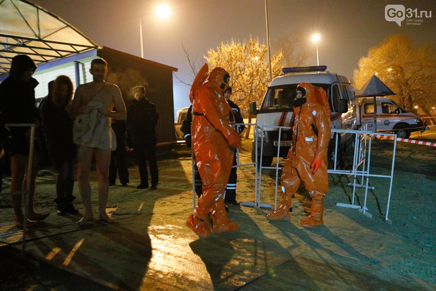 Сотни жителей Белгорода окунулись в крещенские купели, фото-20