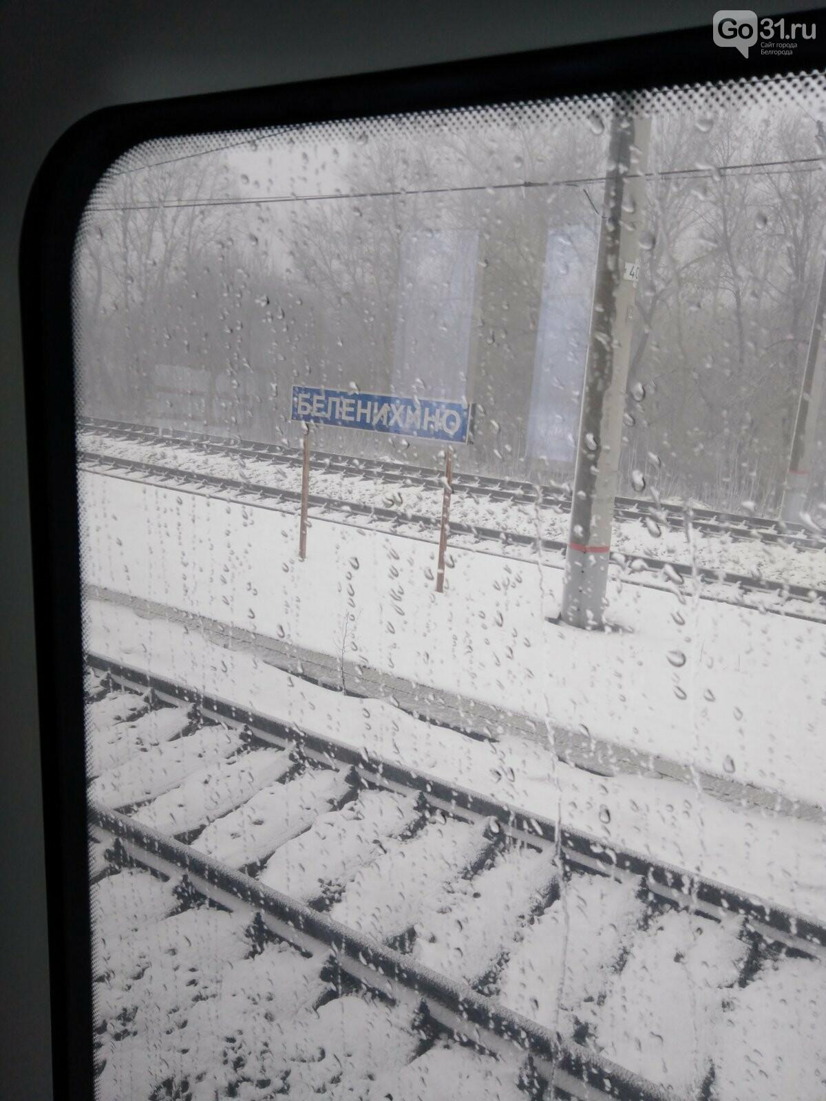 Поломавшуюся «Ласточку» тянут к Белгороду экстренно вызванным локомотивом, фото-1