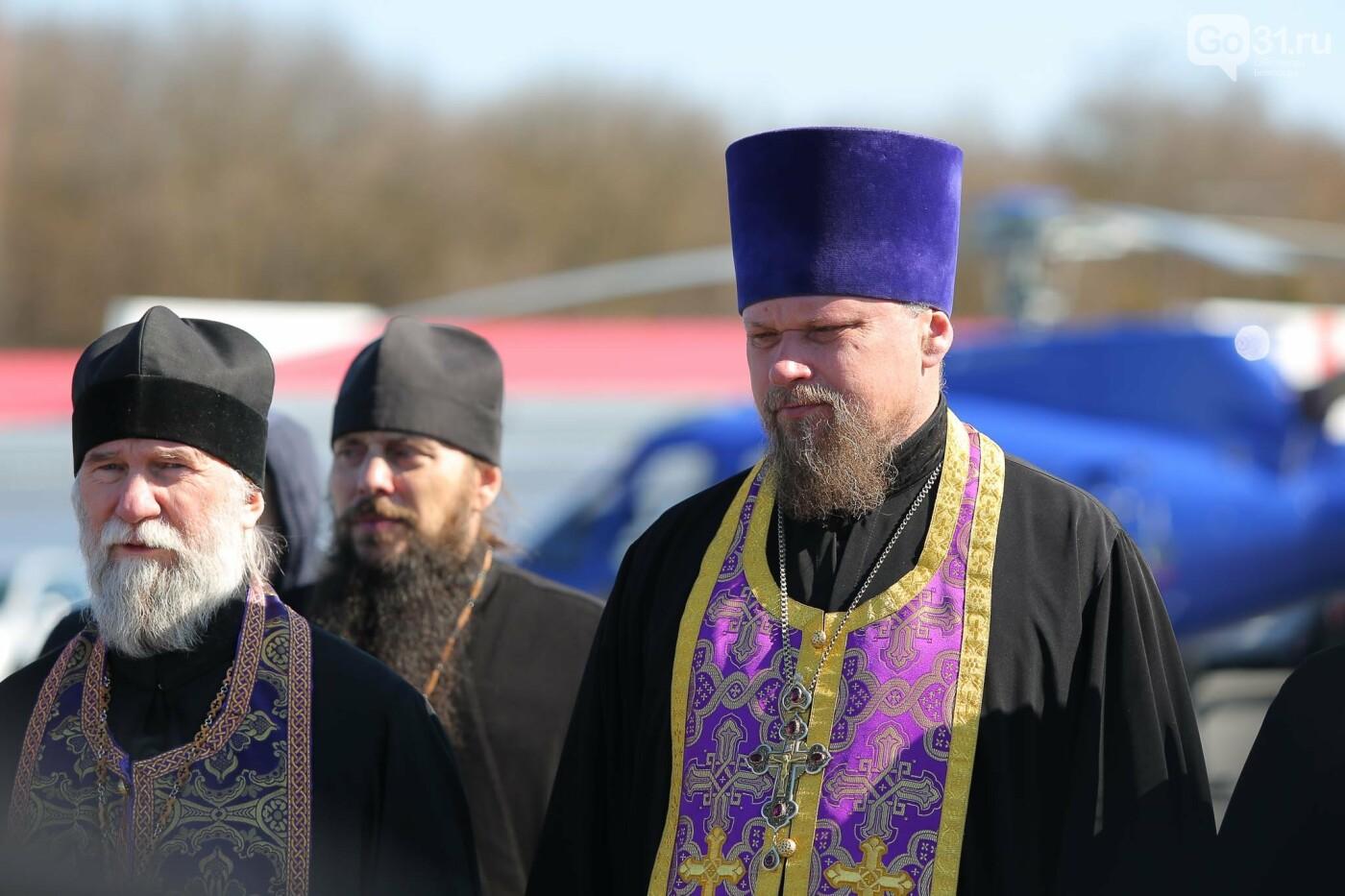 Владыка Иоанн совершил воздушный крестный ход над Белгородской областью, фото-19