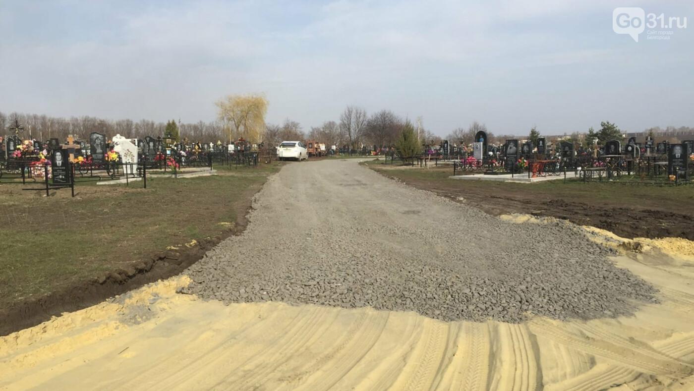 В Белгородском районе обновляется дорога к сельскому кладбищу, фото-3