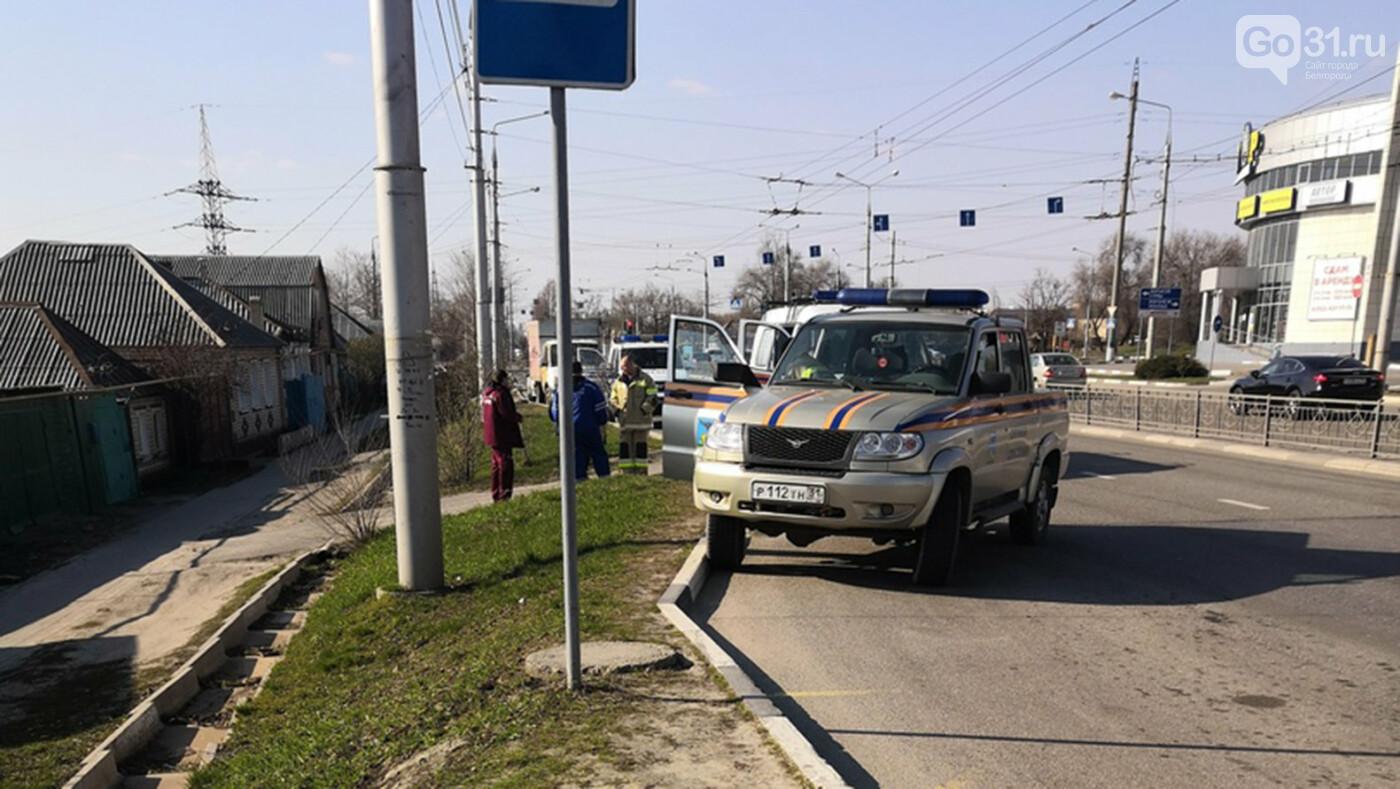 В Белгороде на улице Волчанской работают спецслужбы, фото-4
