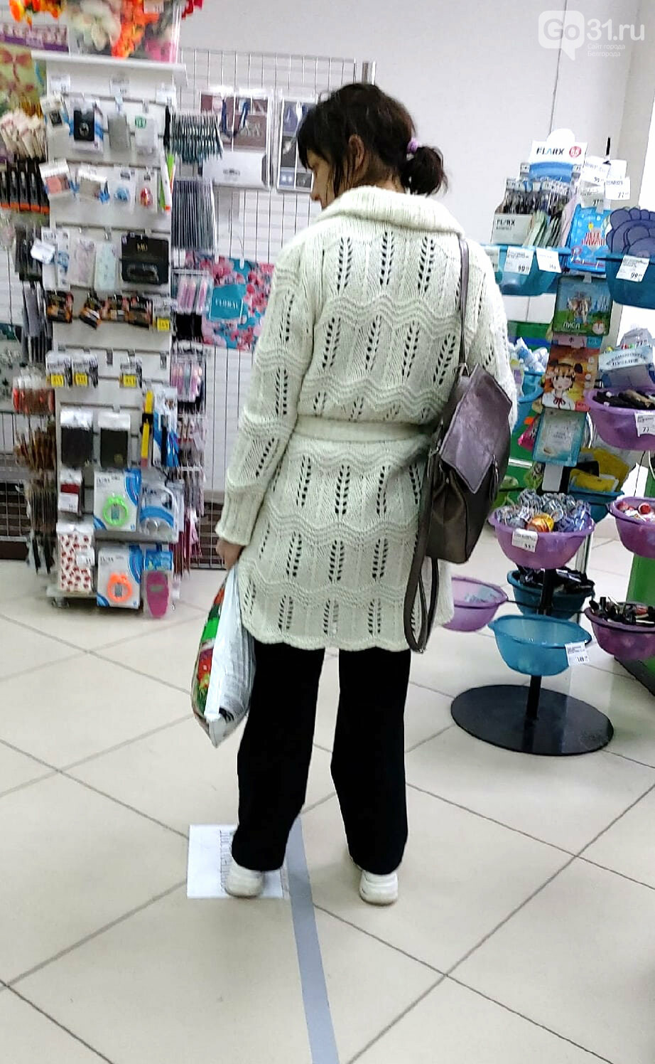 Карантинные хроники. В магазинах – больше масок и дистанции, фото-3, Фото: Надежда Саушина