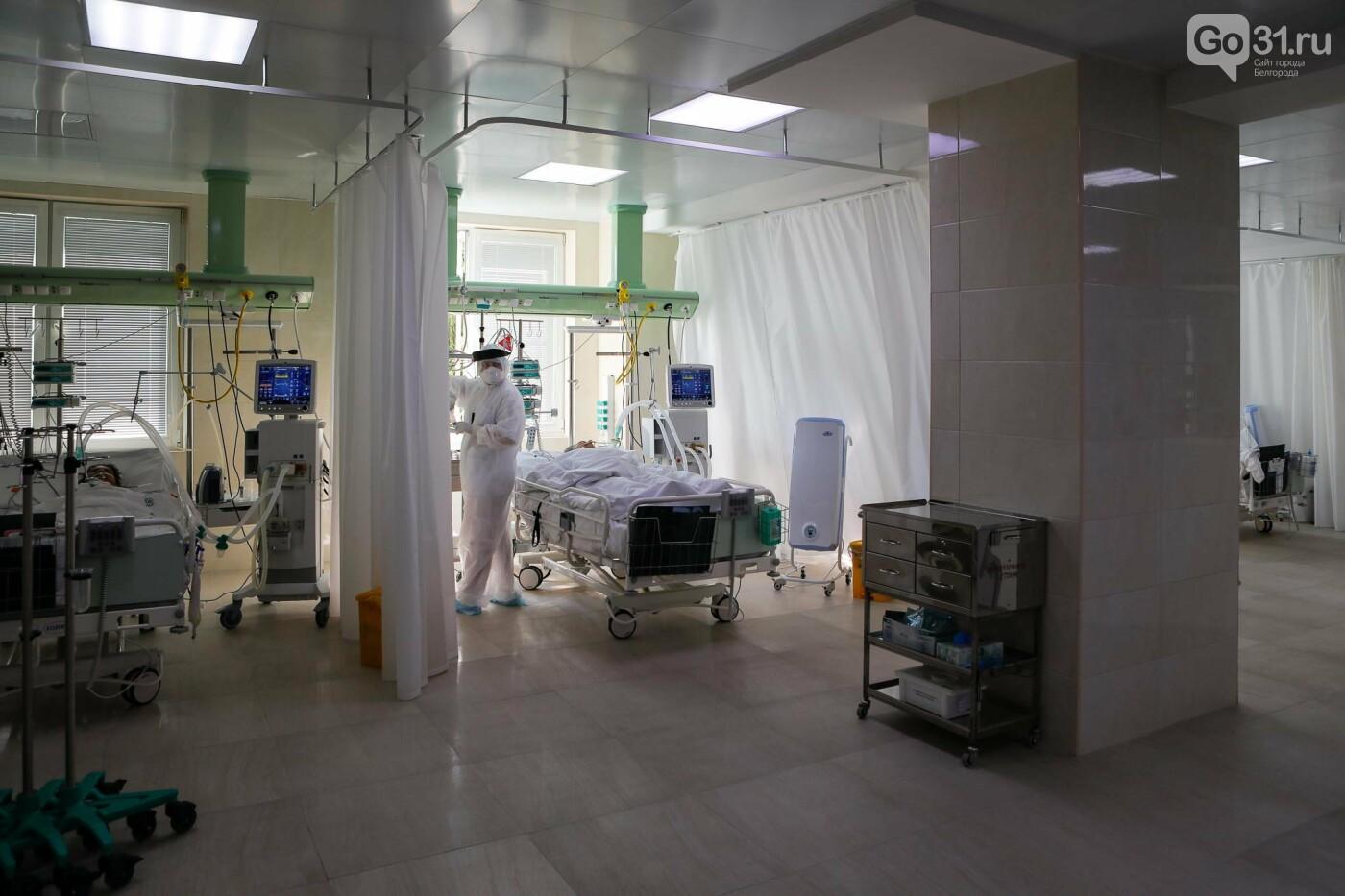 Что происходит в ковид-госпитале Белгорода. Фоторепортаж из «красной» зоны, фото-23, Фото: Антон Вергун