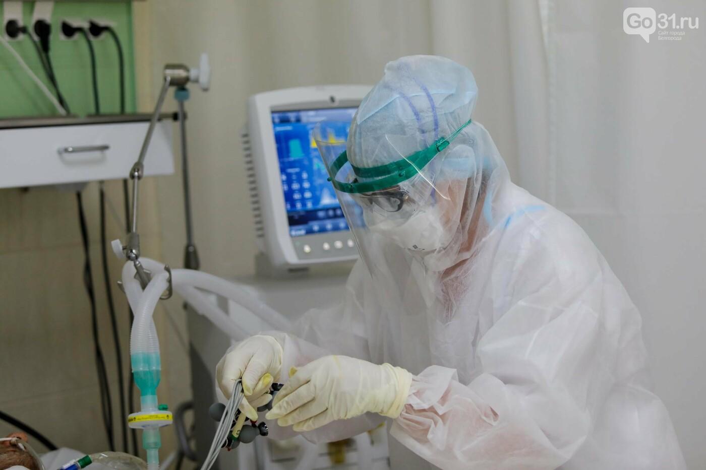 Что происходит в ковид-госпитале Белгорода. Фоторепортаж из «красной» зоны, фото-27, Фото: Антон Вергун
