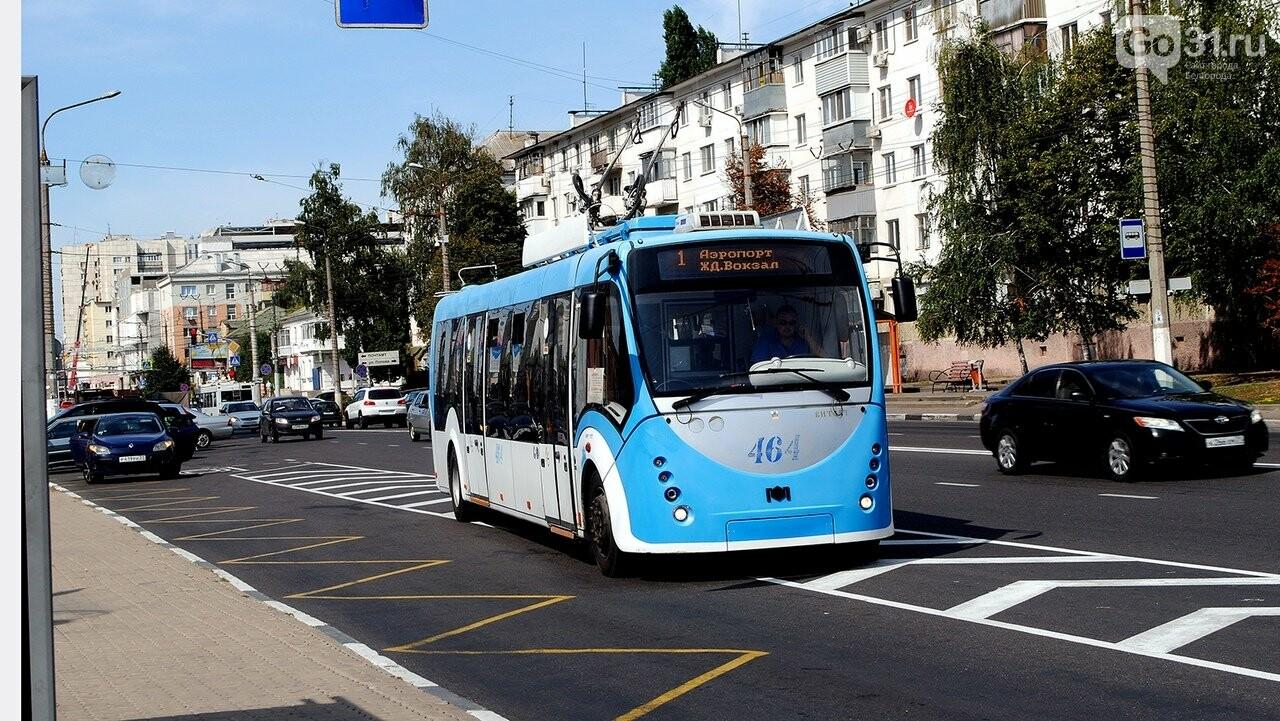 В Белгороде будут развивать троллейбусную сеть, фото-1