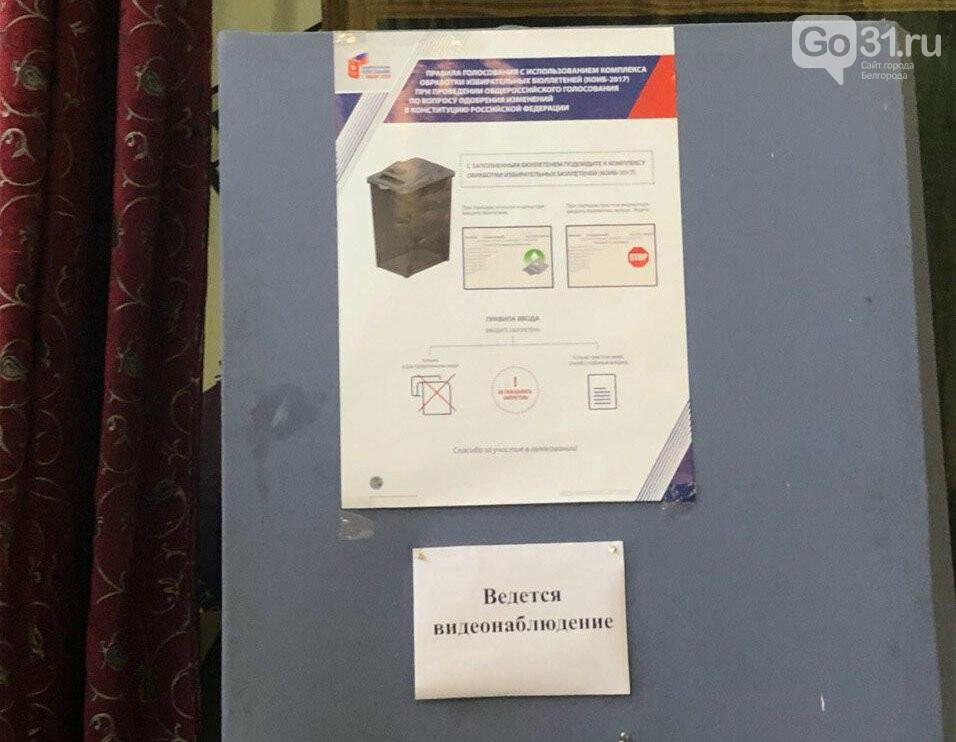 Агитация «ЕдРа», карандаши, контроль дистанции. Как проходит голосование в Белгороде, фото-4