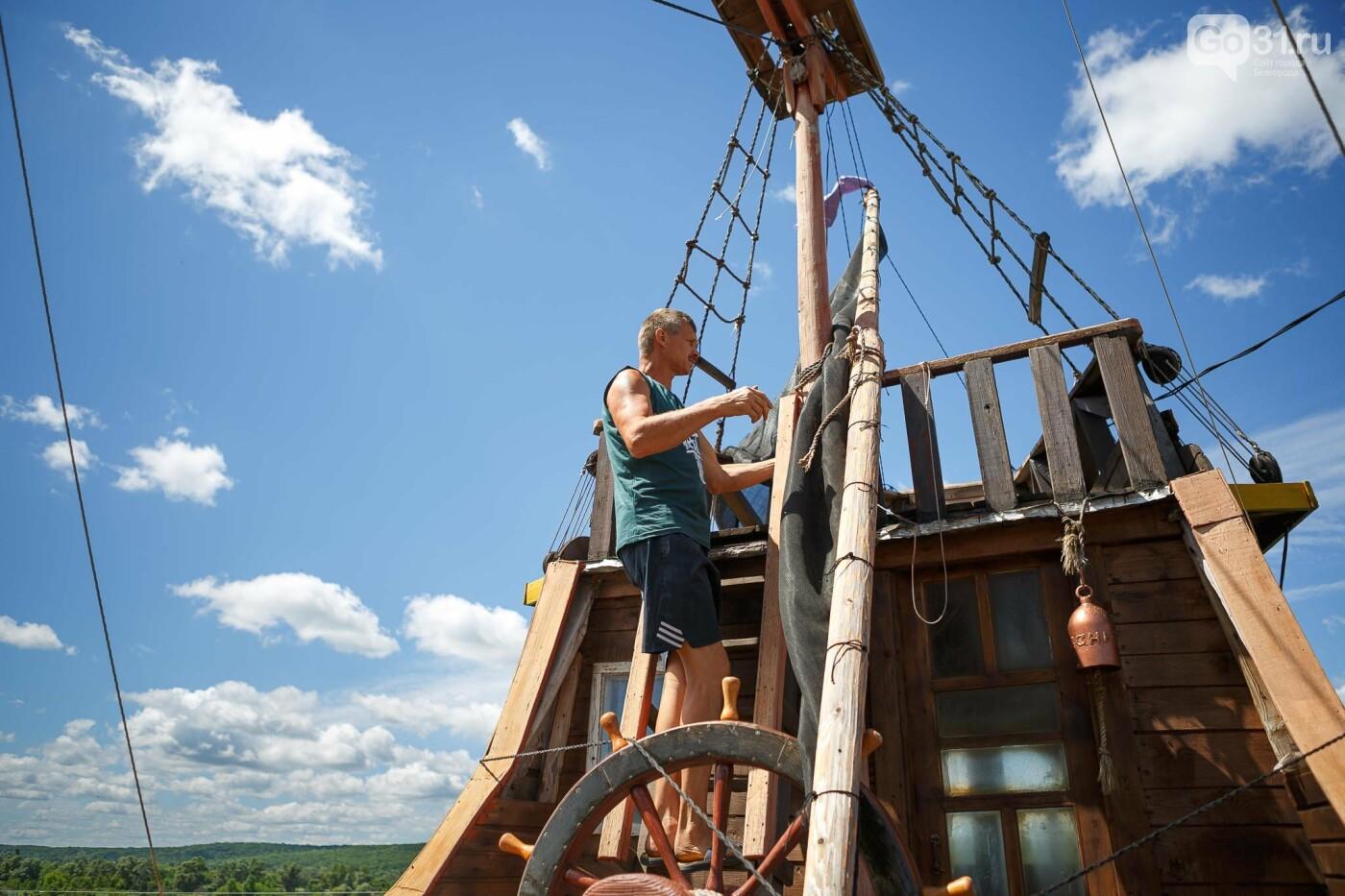 Корабль из гаража. Как создавался пиратский галеон в Купино, фото-8, Фото: Антон Вергун