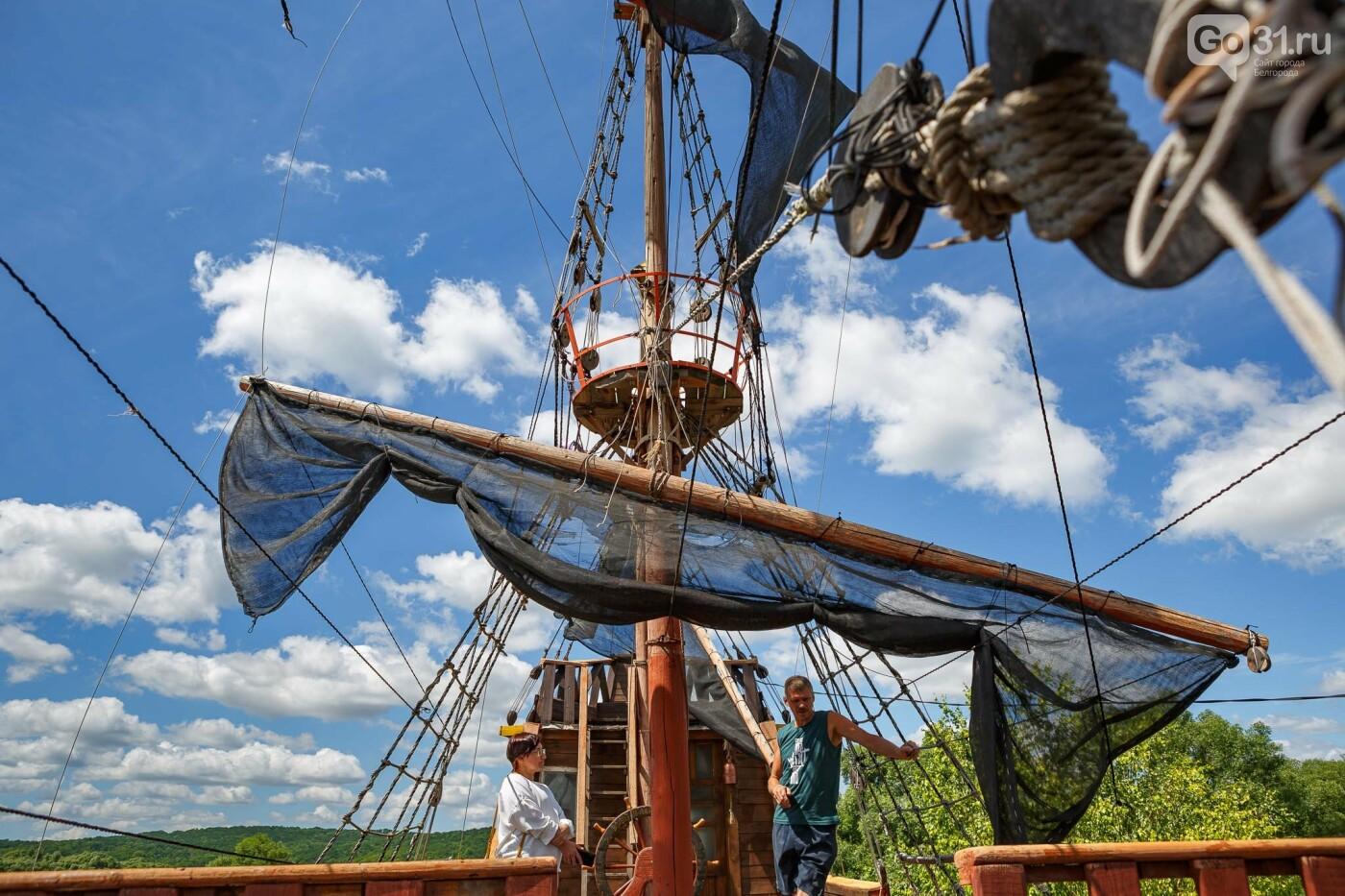 Корабль из гаража. Как создавался пиратский галеон в Купино, фото-12, Фото: Антон Вергун