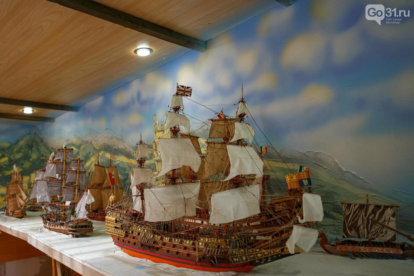 Корабль из гаража. Как создавался пиратский галеон в Купино, фото-21, Фото: Антон Вергун