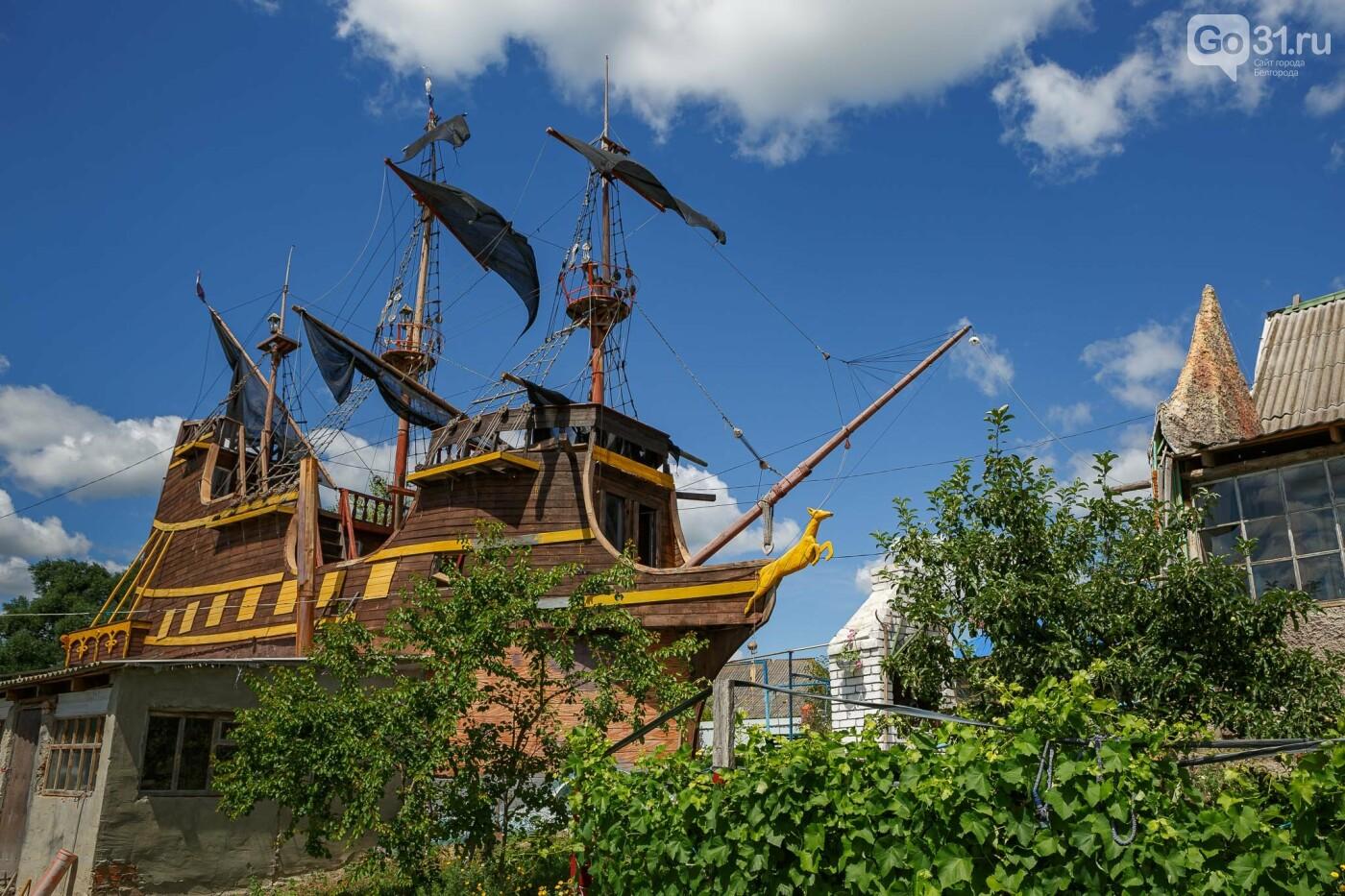 Корабль из гаража. Как создавался пиратский галеон в Купино, фото-24, Фото: Антон Вергун