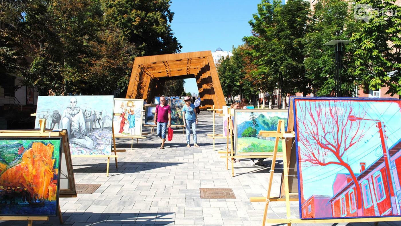Какие картины выставили в центре Белгорода, фото-1