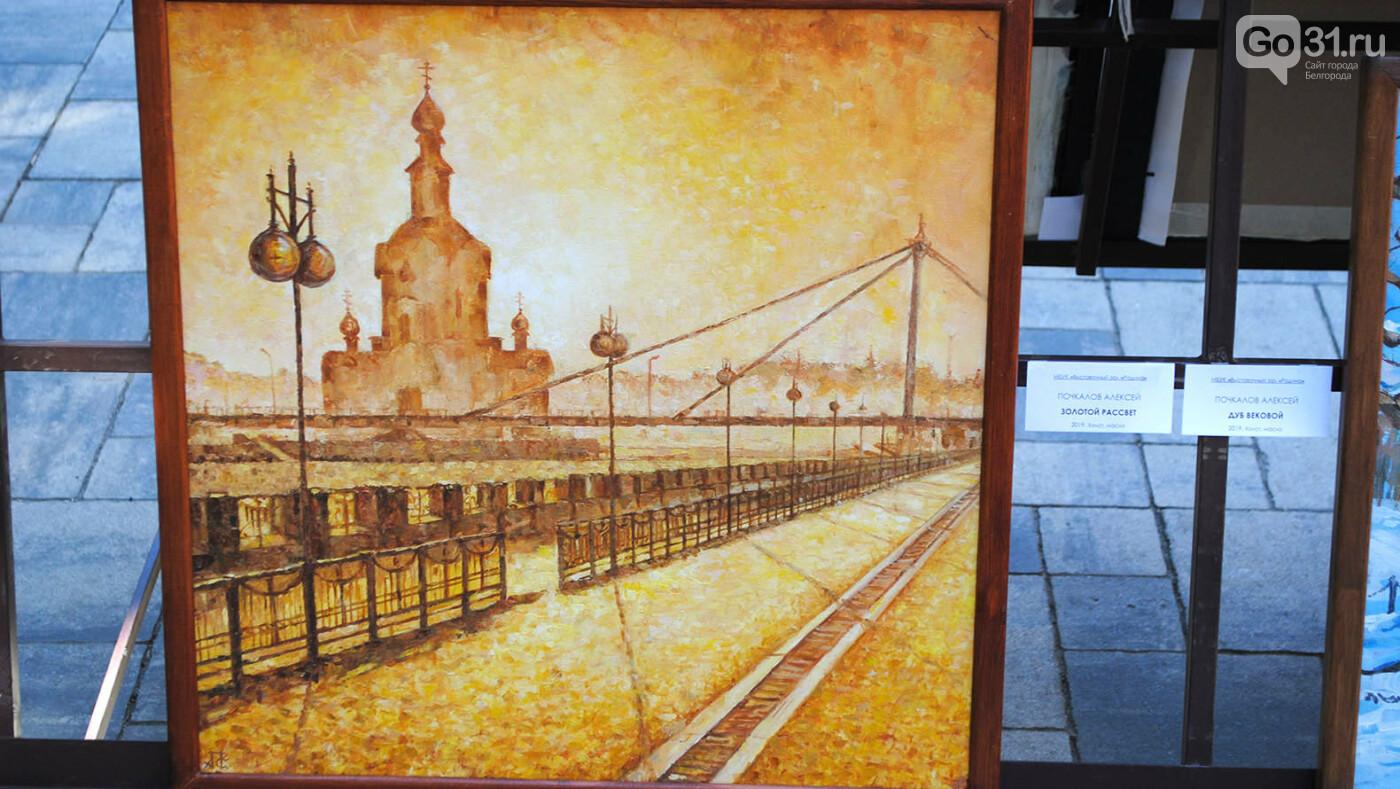 Какие картины выставили в центре Белгорода, фото-6