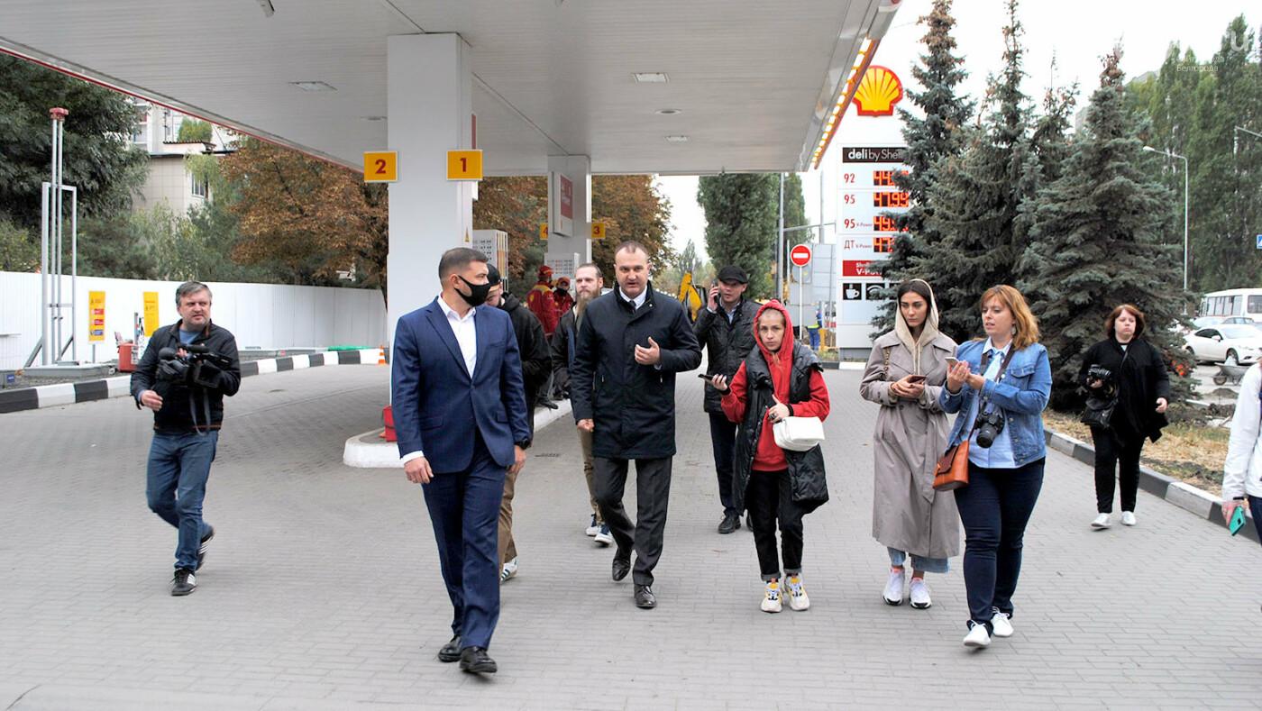 Что делают на Щорса в Белгороде прямо сейчас, фото-1, Фото: Сергей Кудрин