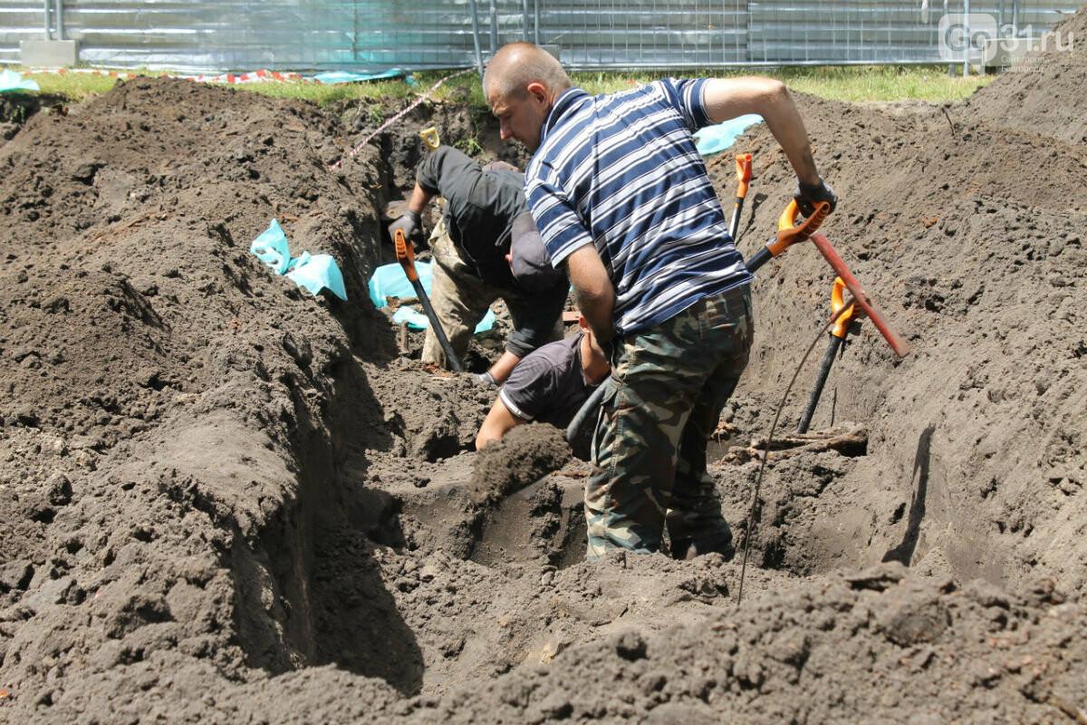 Будет ли эксгумация останков советских солдат под Соборной площадью в Белгороде?, фото-1, Фото: белгородское региональное отделение ДОСААФ