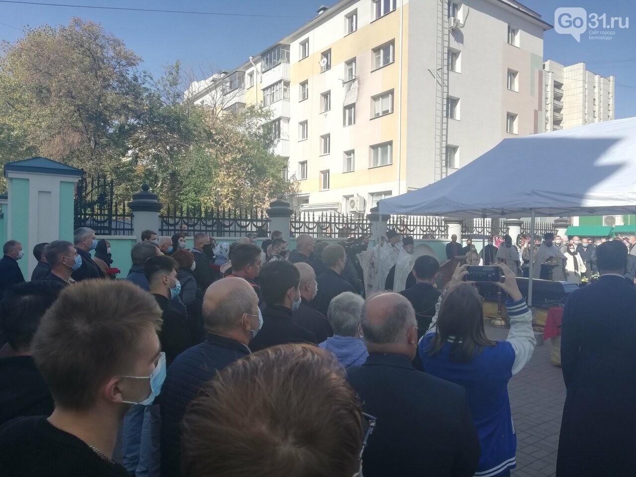В Преображенском соборе Белгорода простились с заслуженным врачом России, фото-2