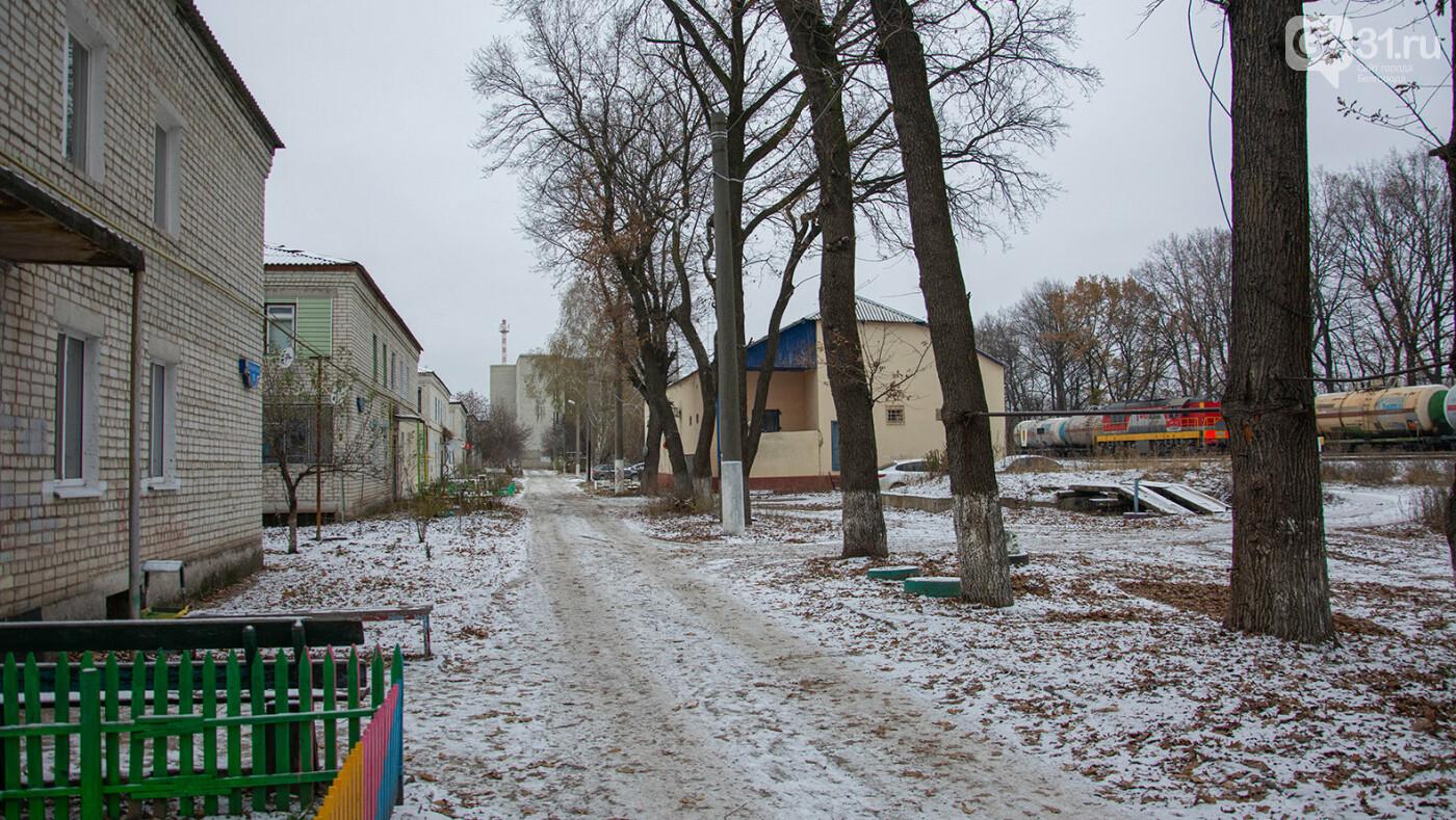 На улице Станционной в Разумном Белгородского района, Фото: Александр Лобынцев