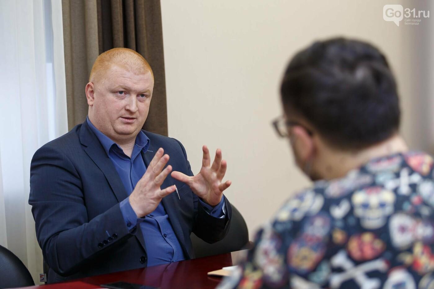 Беседа с Андреем Иконниковым, Фото: Антон Вергун