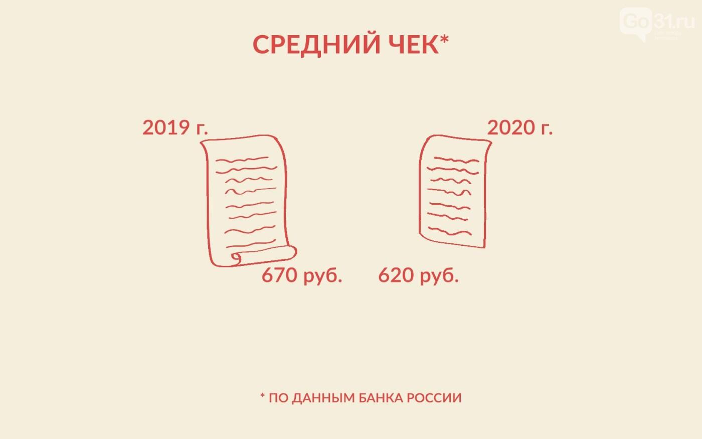 Использование платёжных карт в Белгородской области, Графика: Светлана Махонина, Виктория Лопырева