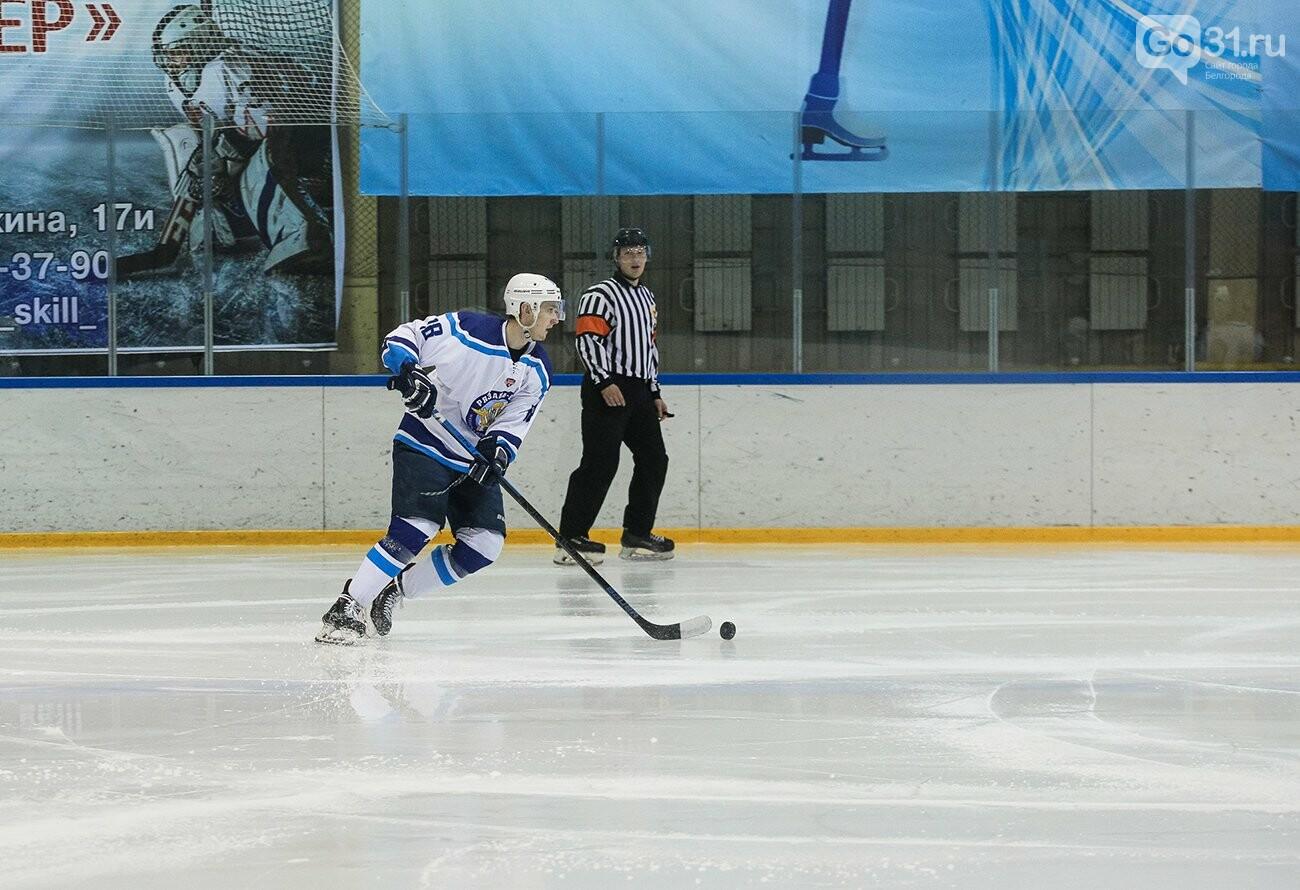 Игра МХ «Белгород» и «Рязань-ВДВ» в Белгороде, Фото: Андрей Закоморный