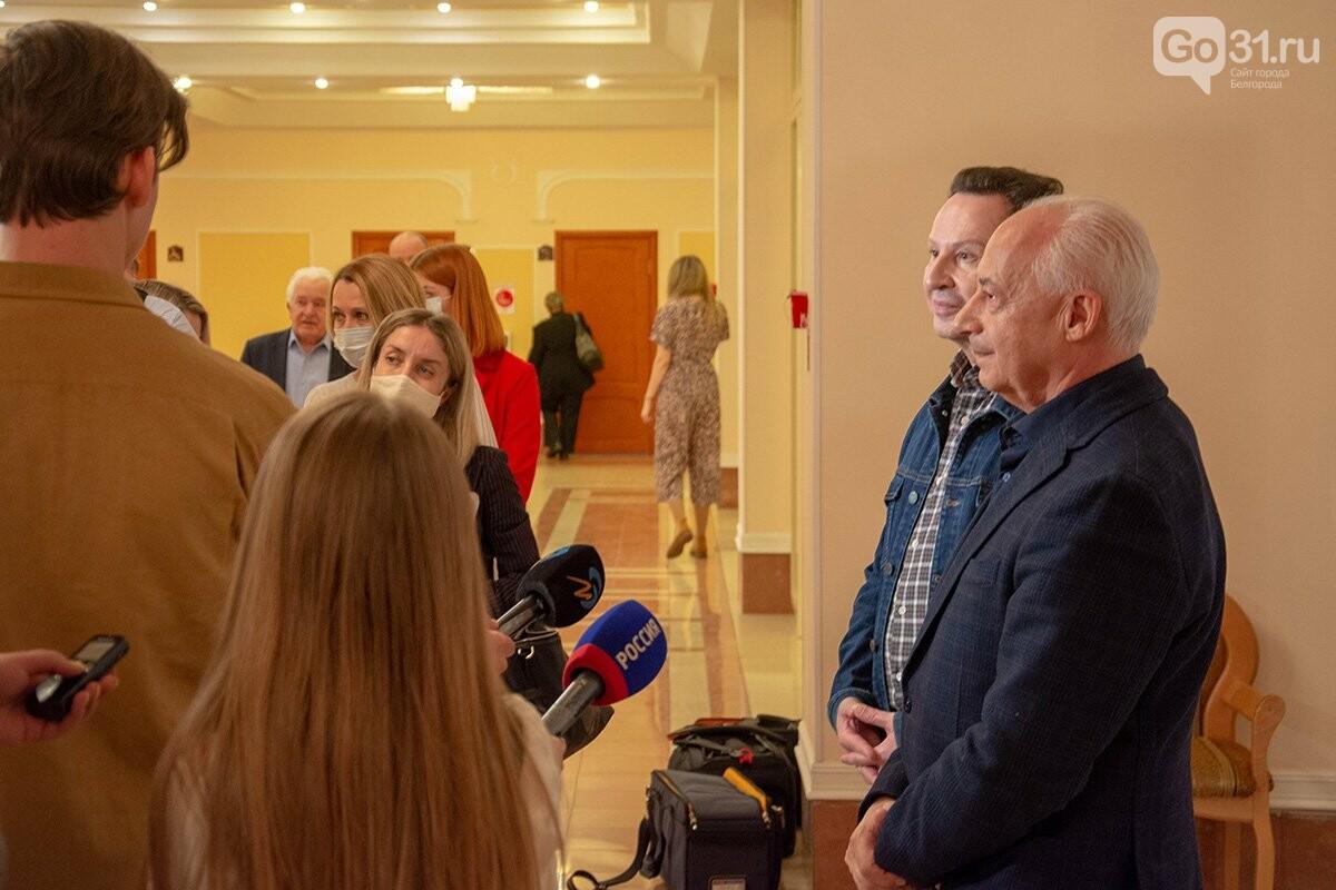 Выступление НФОР под управлением Владимира Спивакова в Белгороде, Фото: Александр Лобынцев