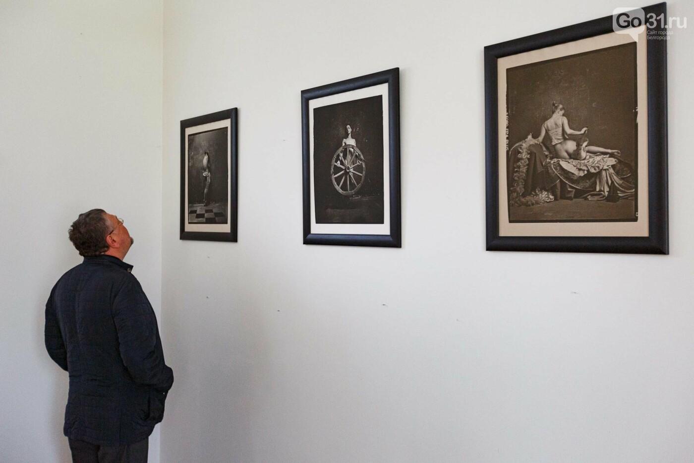 На выставке «1/4 времени» Павла Титовича, Фото: Антон Вергун